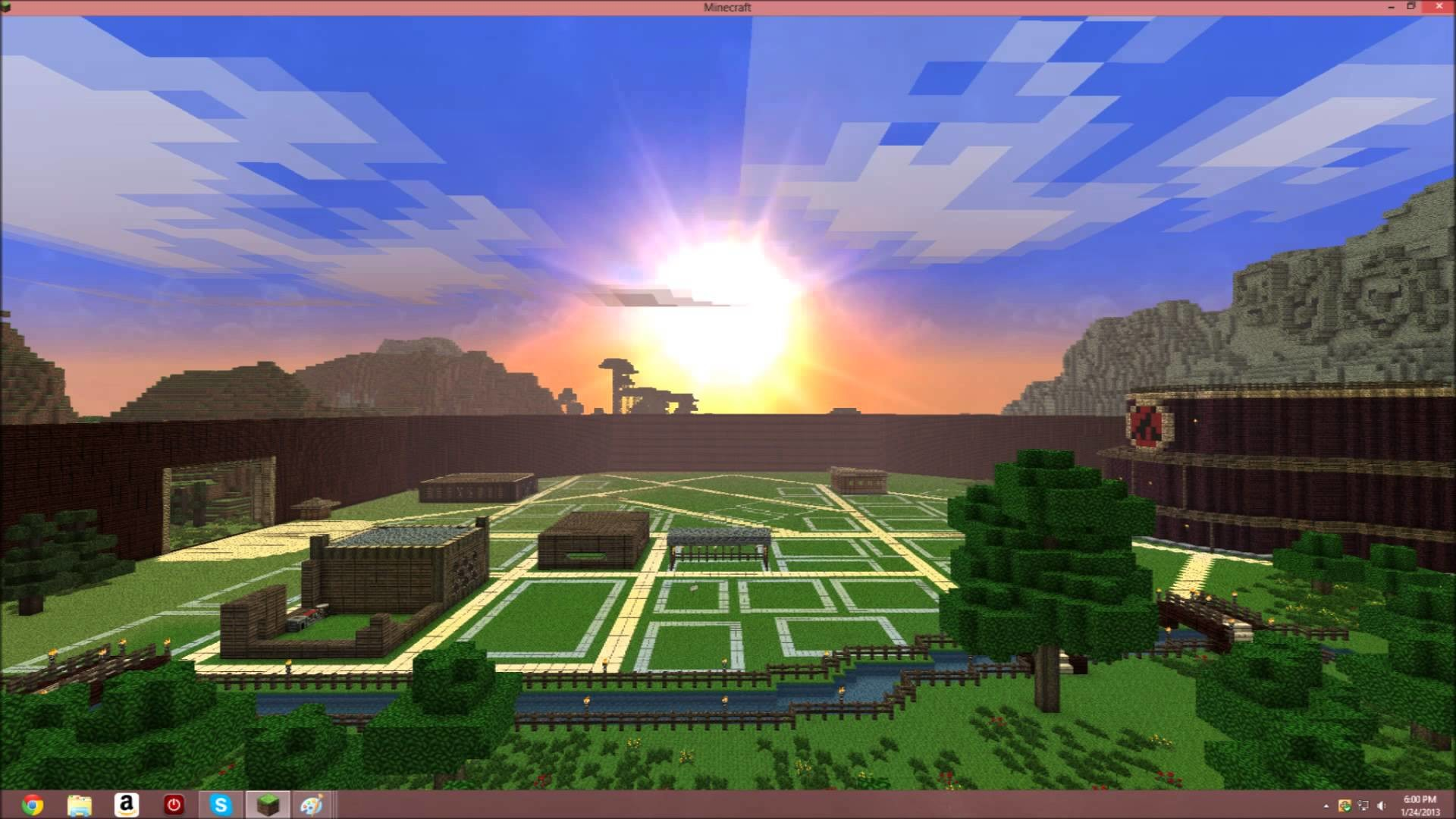 Minecraft server (Hidden leaf village showcase) come join!