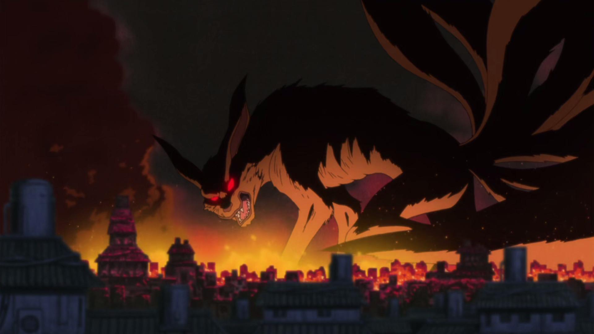 Nine-Tailed Demon Fox's Attack