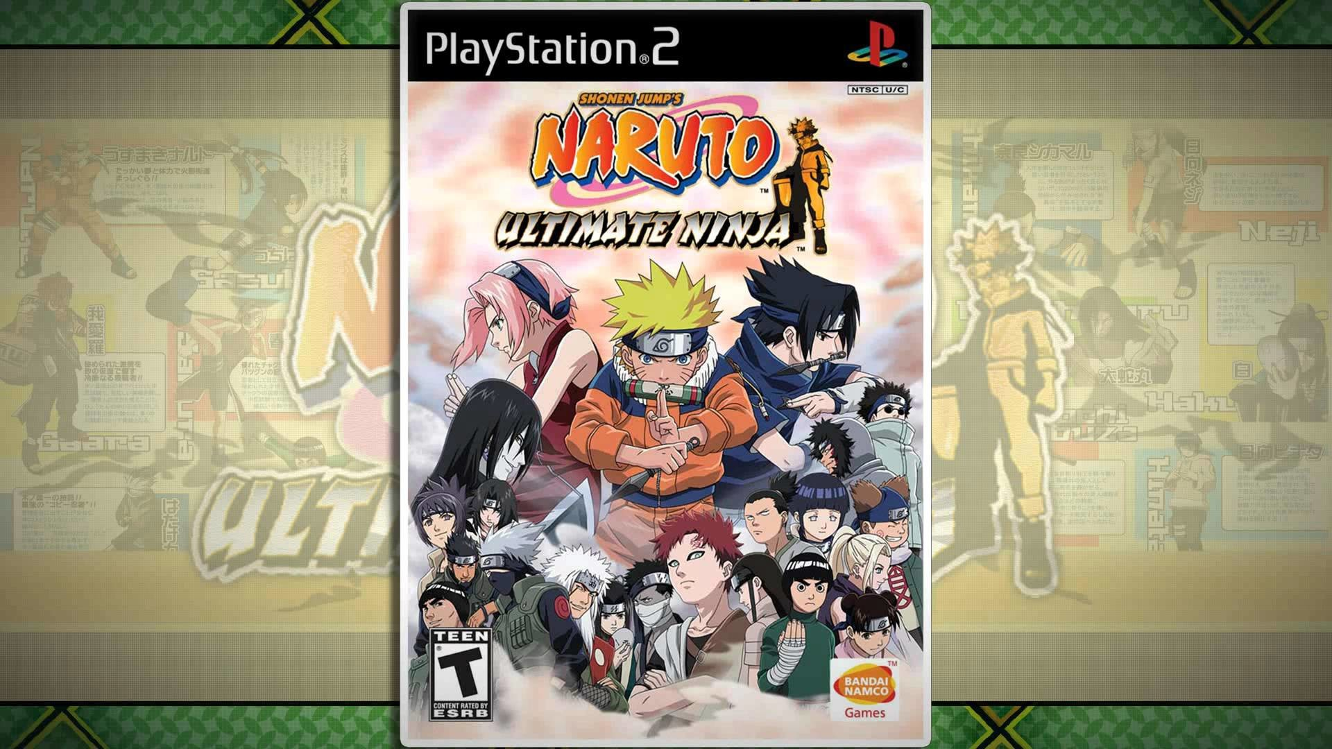 "Naruto: Ultimate Ninja – ""Hidden Leaf Village: Exercise Ground & Memorial  Ground"" [1080p60]"