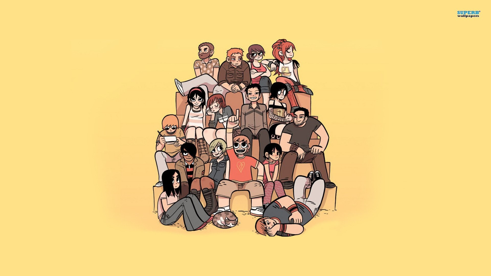 HD Wallpaper | Background ID:414123. Comics Scott Pilgrim