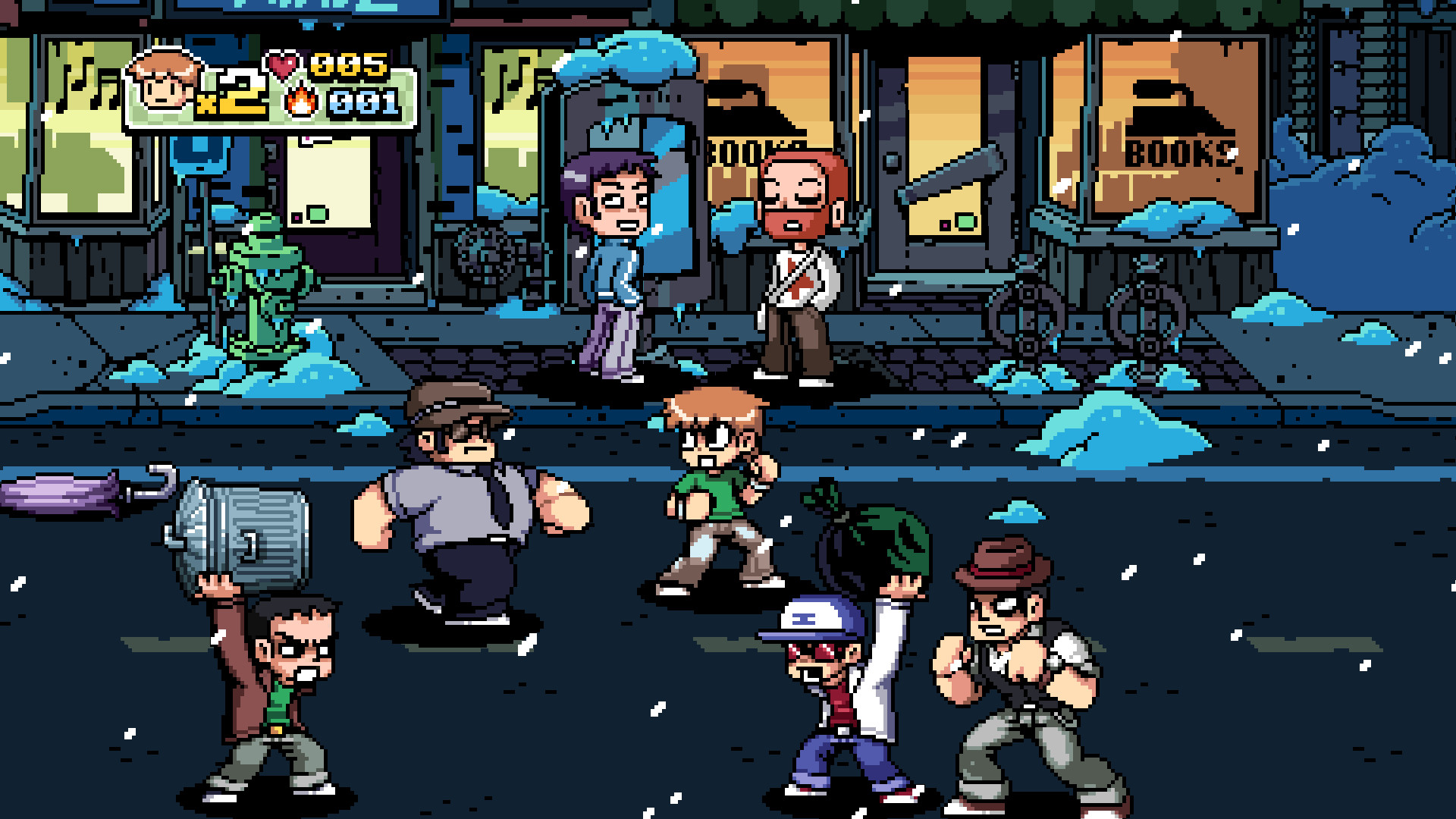 Scott Pilgrim vs. the World's Author On A Mission To Bring Back 2010 Game  Adaptation | Den of Geek