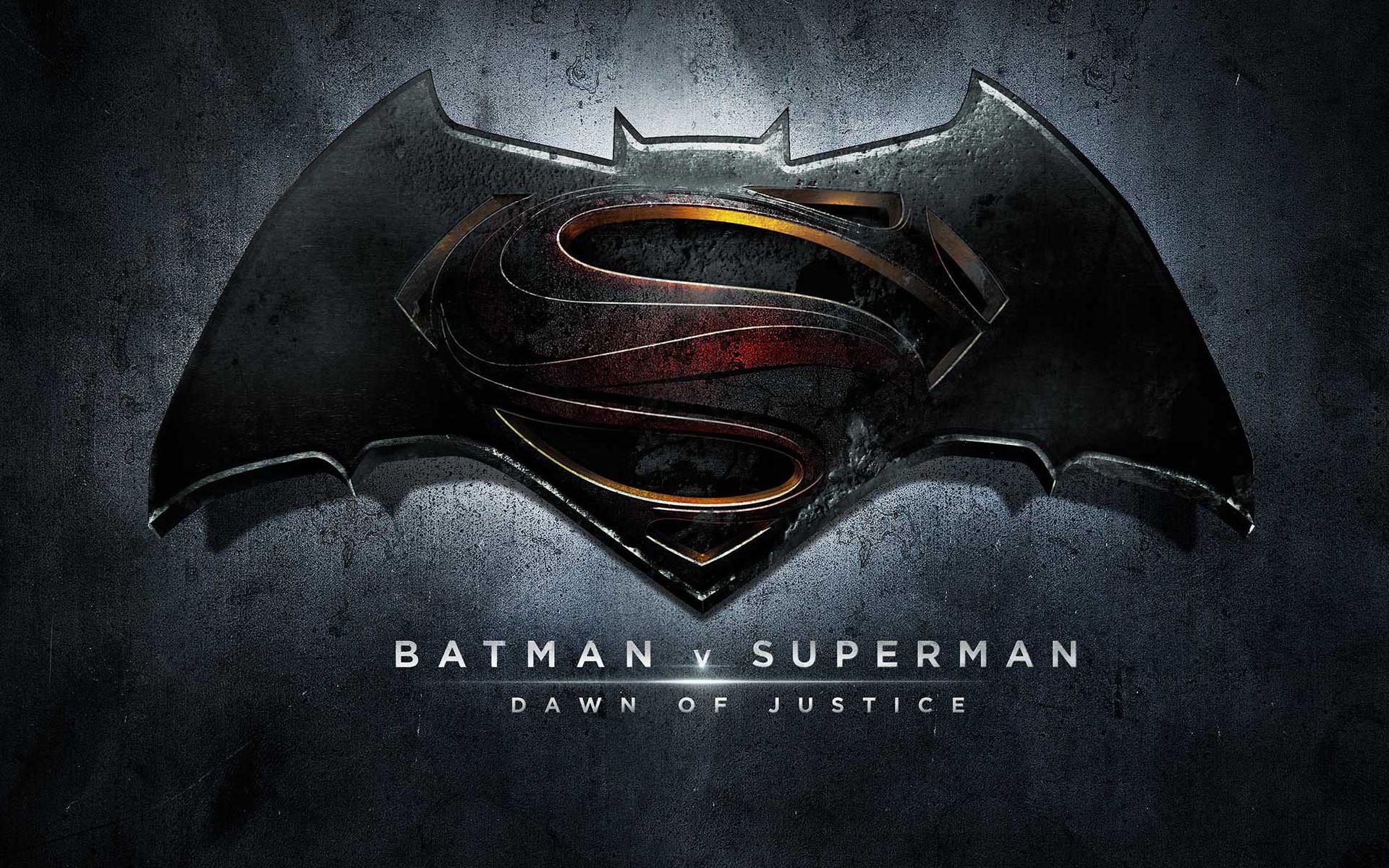 Superman Batman Logo Wallpaper Free Desktop