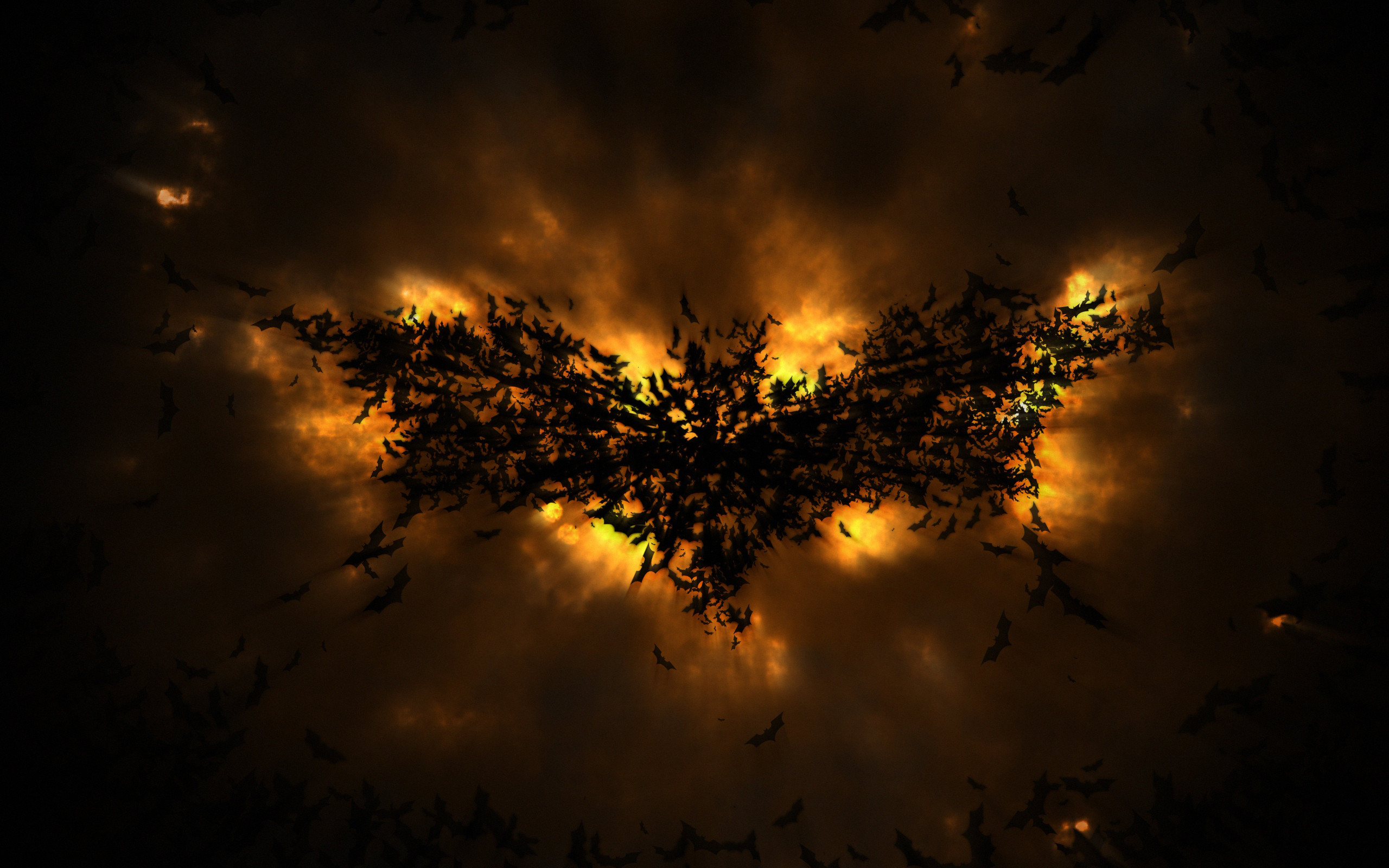Published 25.07.2012 at 2560 × 1600 in The Dark Knight Rises Batman Logo  abstract wallpaper …