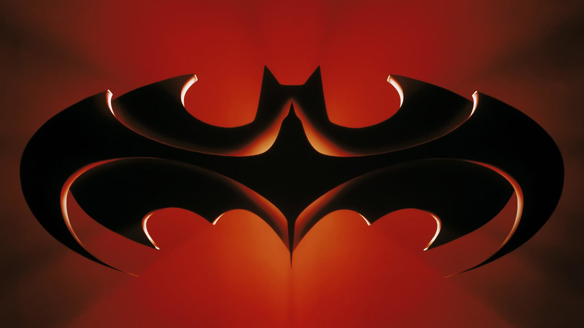 Cartoon Batman Logo HD Desktop Wallpaper