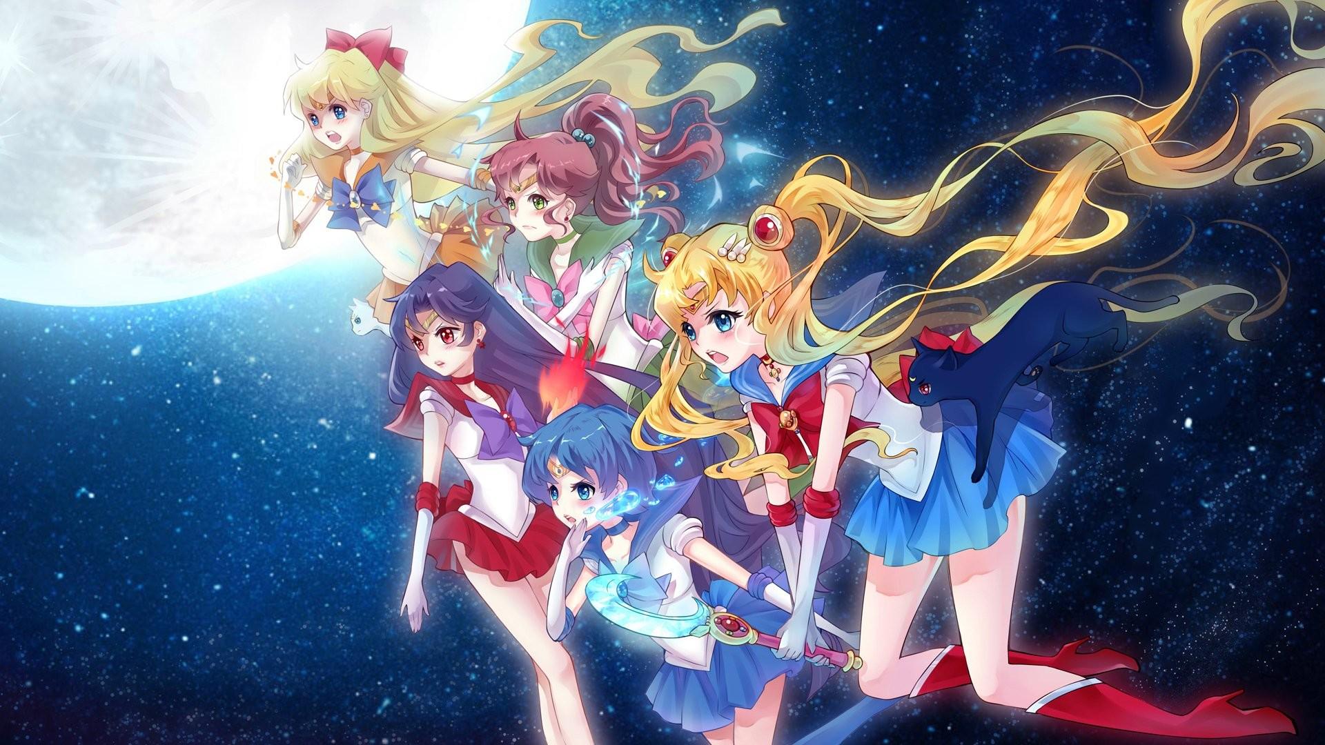 Anime – Sailor Moon Anime Long Hair Twintails Ponytail Purple Hair Blonde  bow (Clothing)