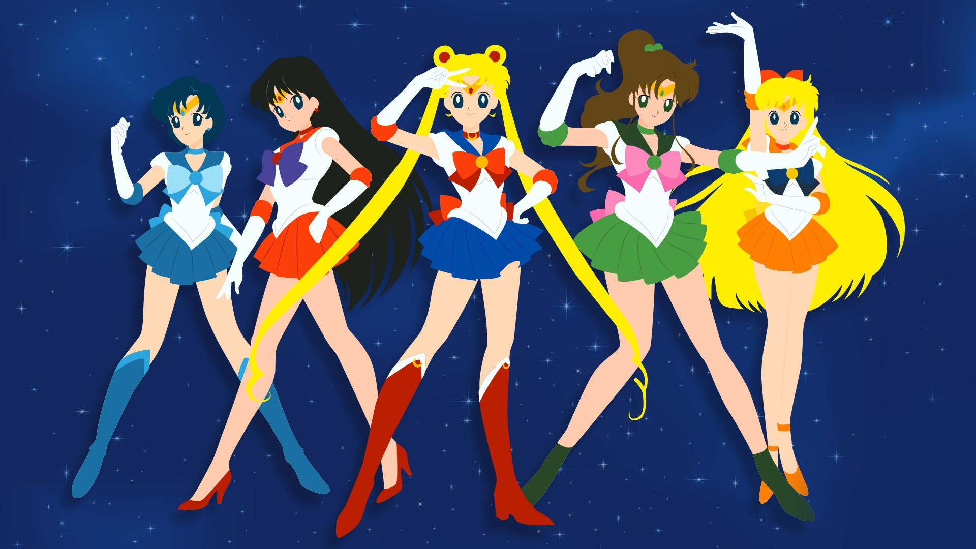 Sailormoon HD desktop wallpaper : High Definition : Mobile 1920×1080