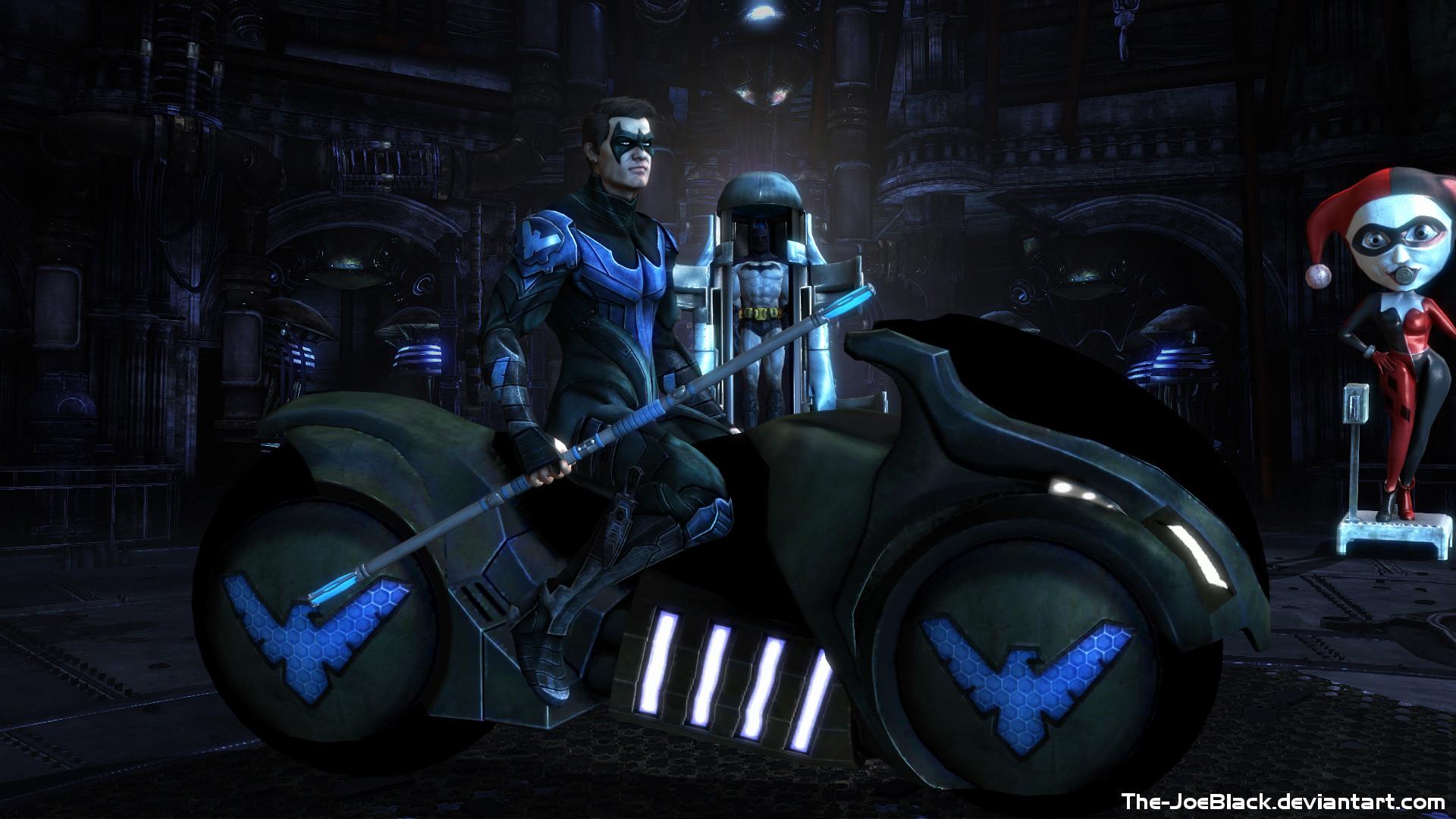 Injustice: Nightwing wallpaper by The-JoeBlack on DeviantArt