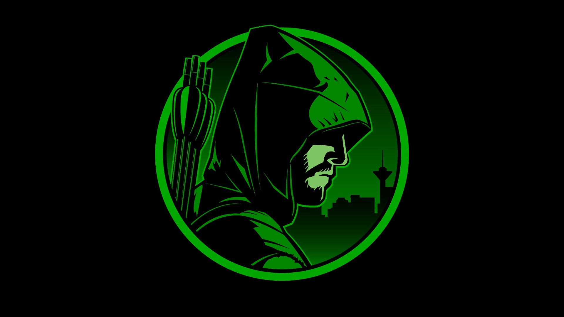 Free download arrow logo wallpapers HD.