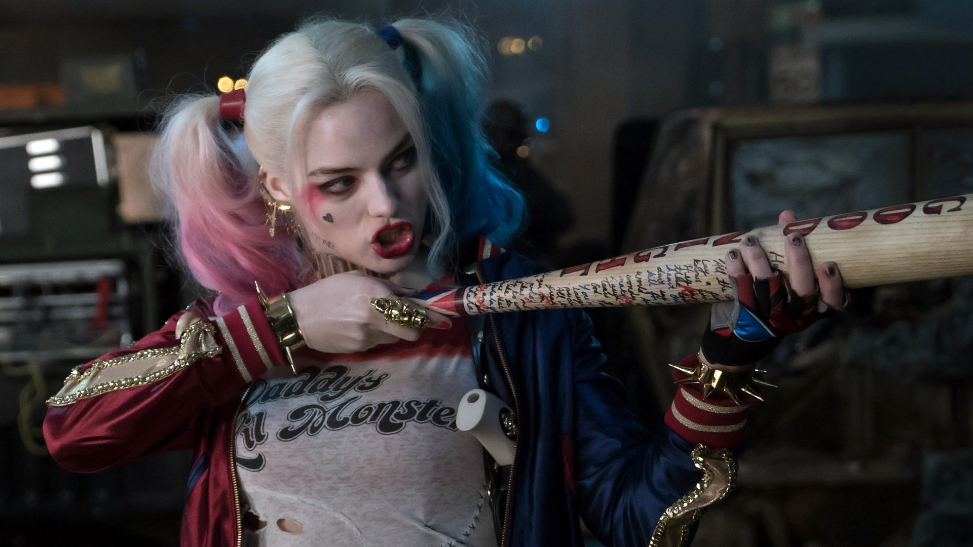 Harley-Quinn-Suicide-Squad-Movie-HD-Images.jpg (1920×1080) | Scrawl Project  | Pinterest | Movie