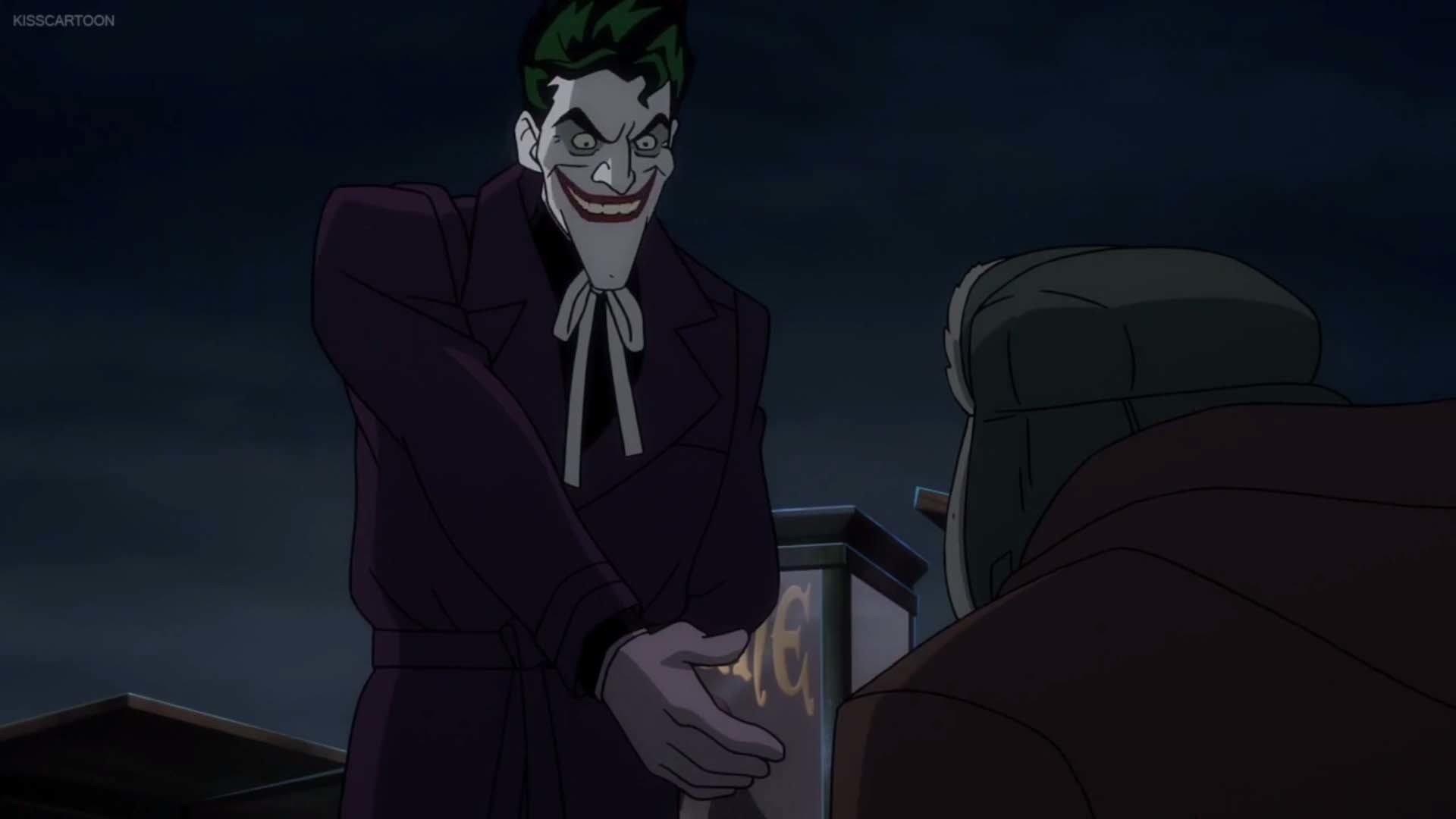 It's called Killing Joke and you'd think that Joker and Batman would be  together a lot. At least the trailer would leave you to believe that.