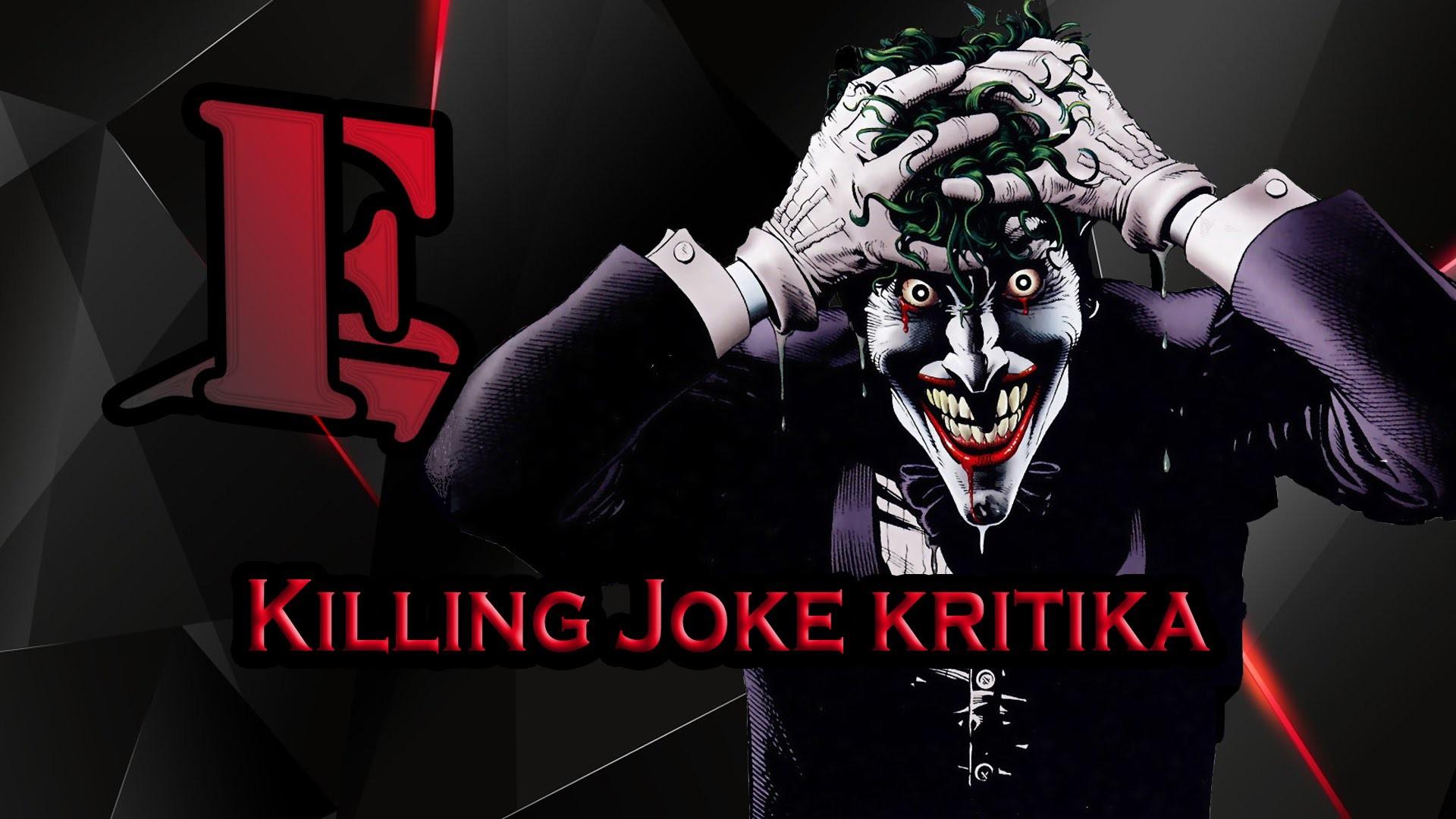 Batman The Killing Joke kritika
