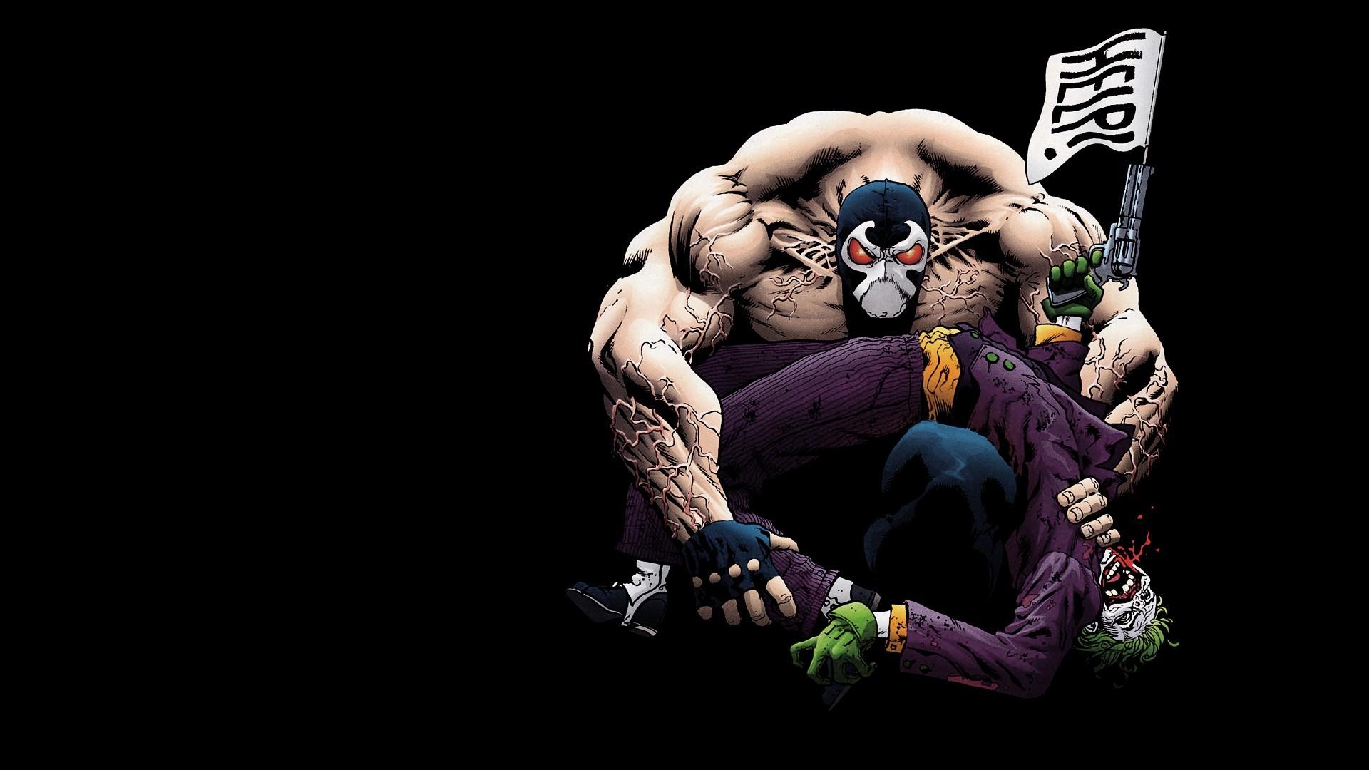 Bane Breaks Joker 1920 x 1080 » Comic Wallpapers