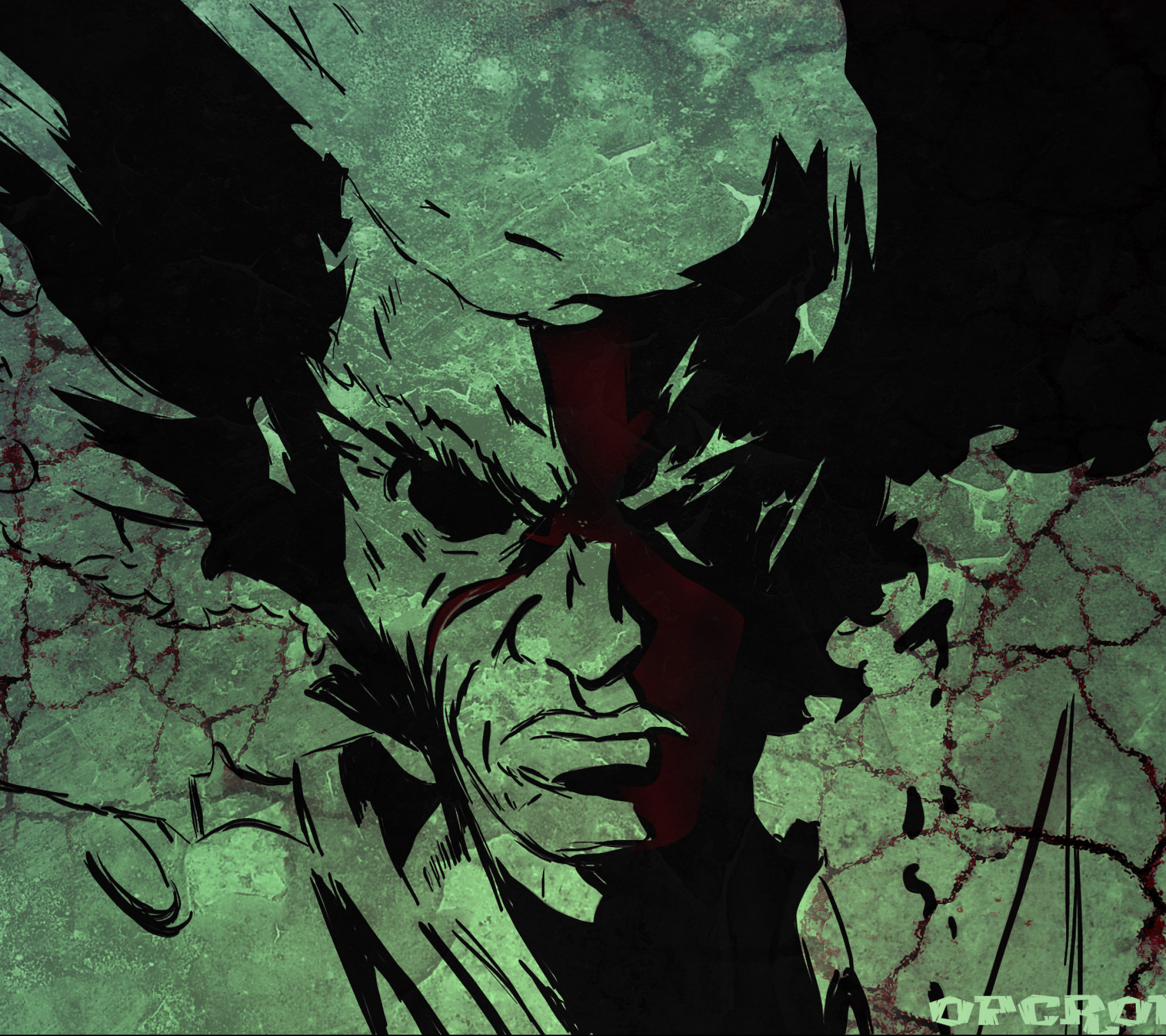 Anime Afro Samurai. Wallpaper 528270