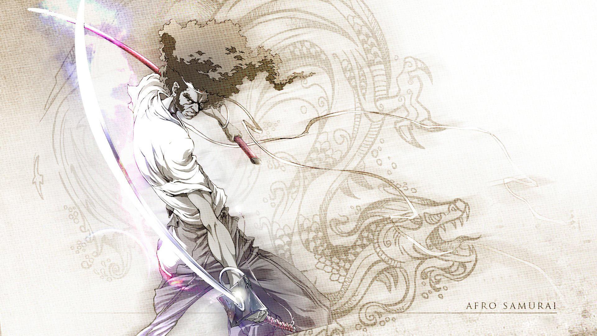 Afro Samurai HD Wallpaper 1920×1080