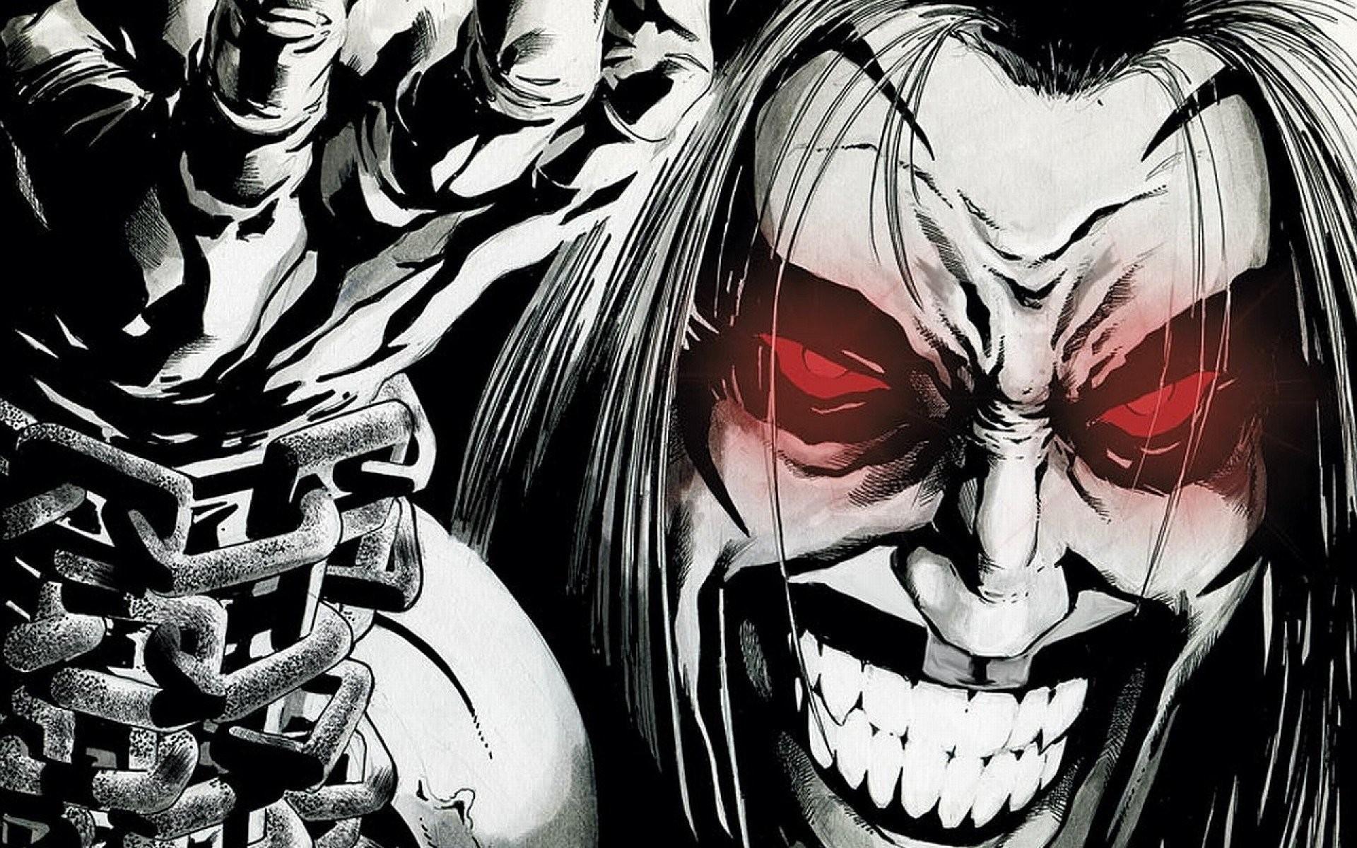 DC Comics comics Lobo weird worlds Czarnian wallpaper background
