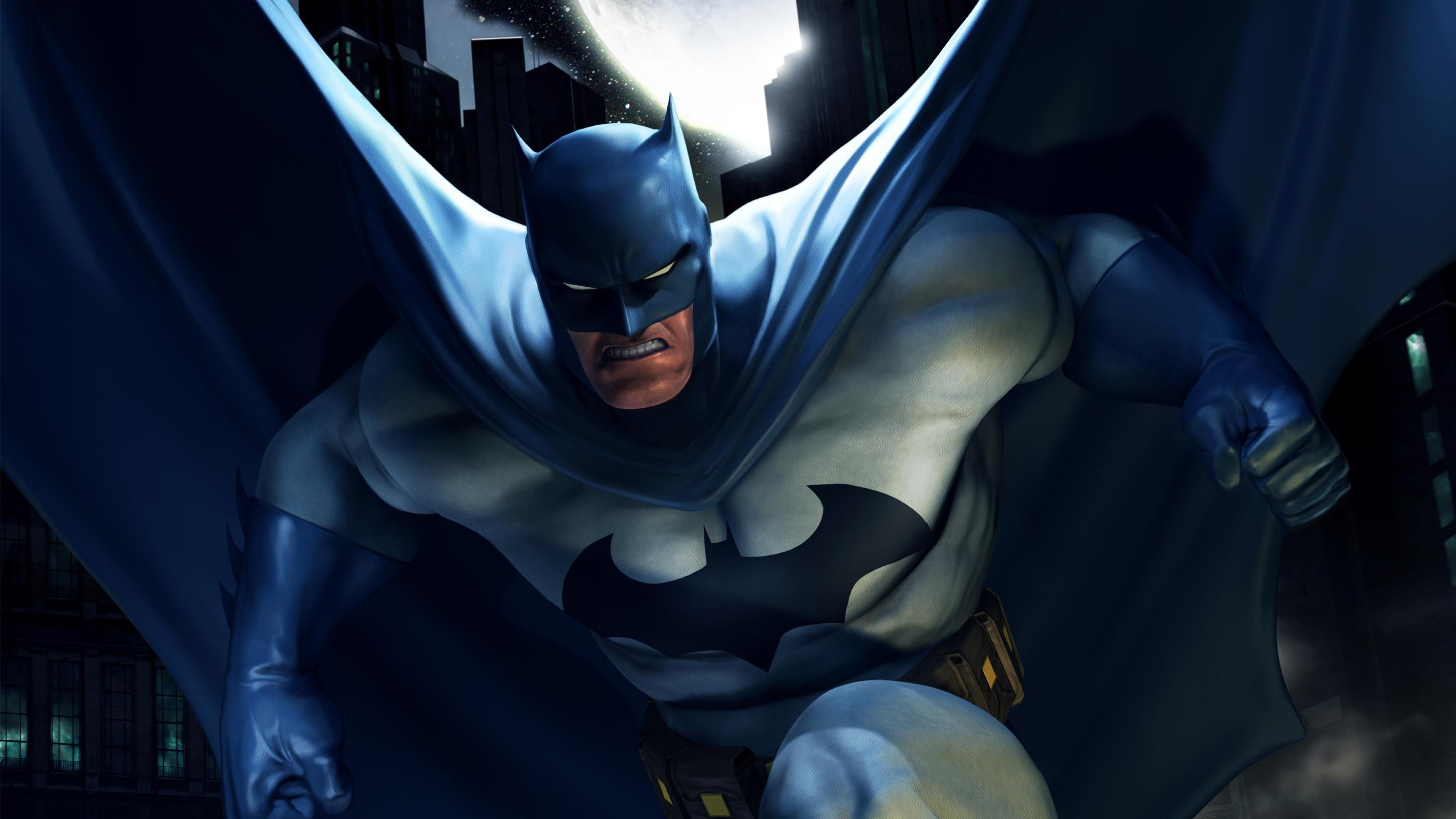 Preview wallpaper batman, superhero, dc comics 3840×2160