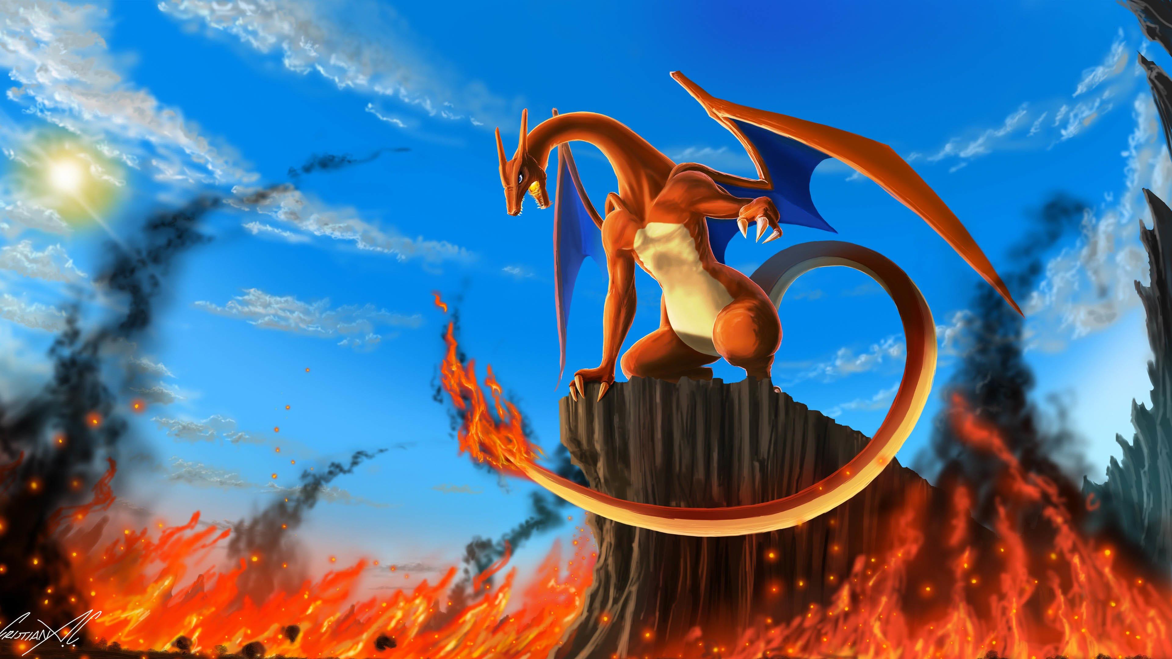 Charizard Pokémon wallpaper