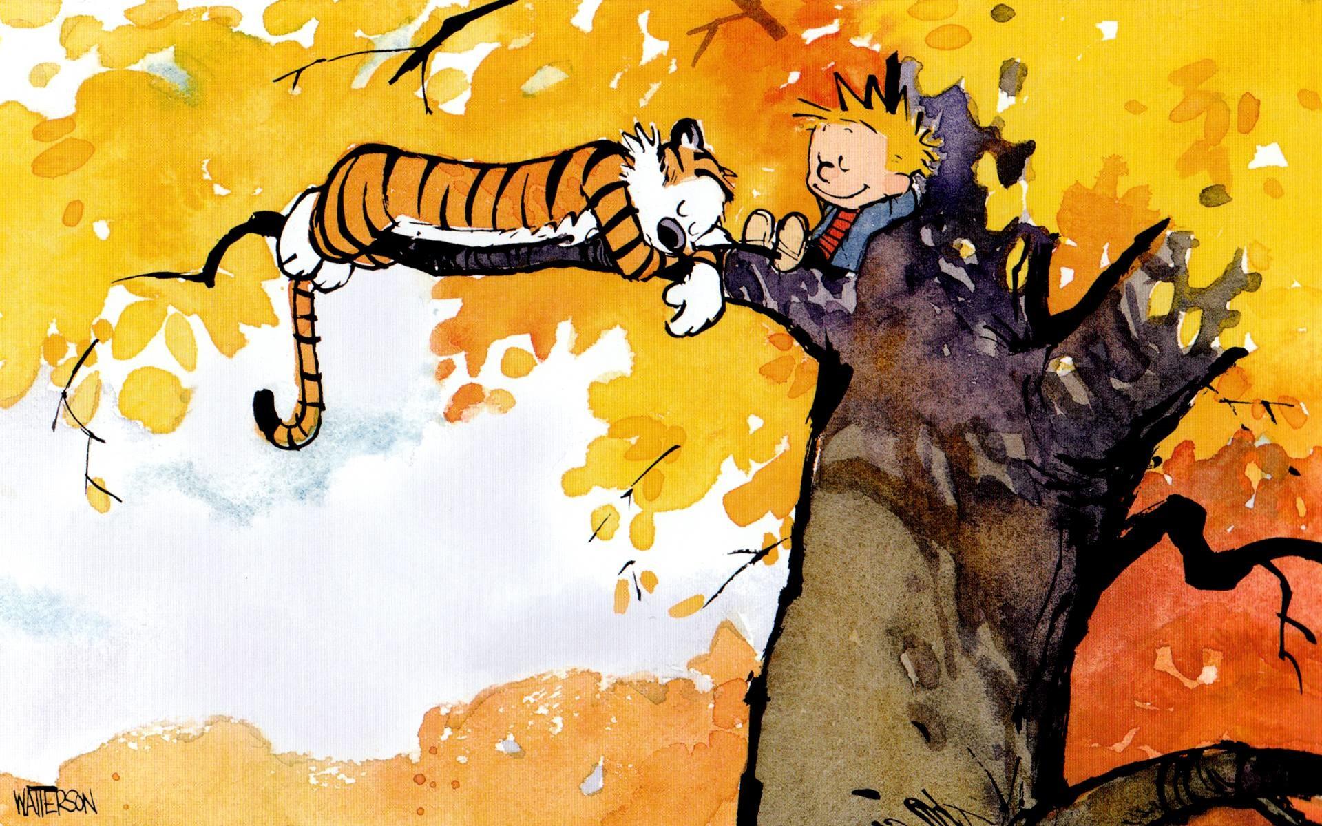 28 Hi-Def Calvin and Hobbes Wallpapers