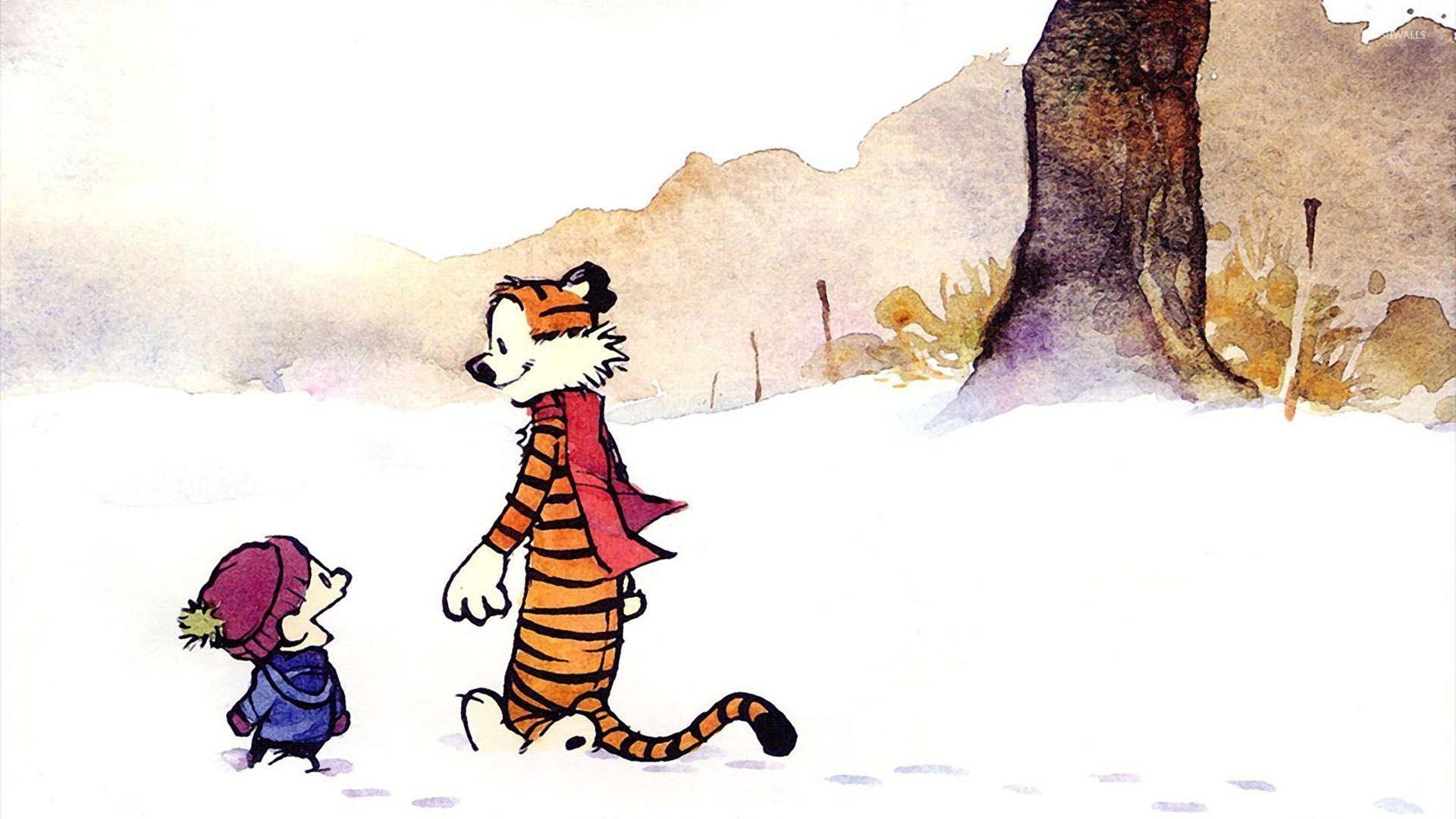 Calvin and Hobbes [10] wallpaper jpg