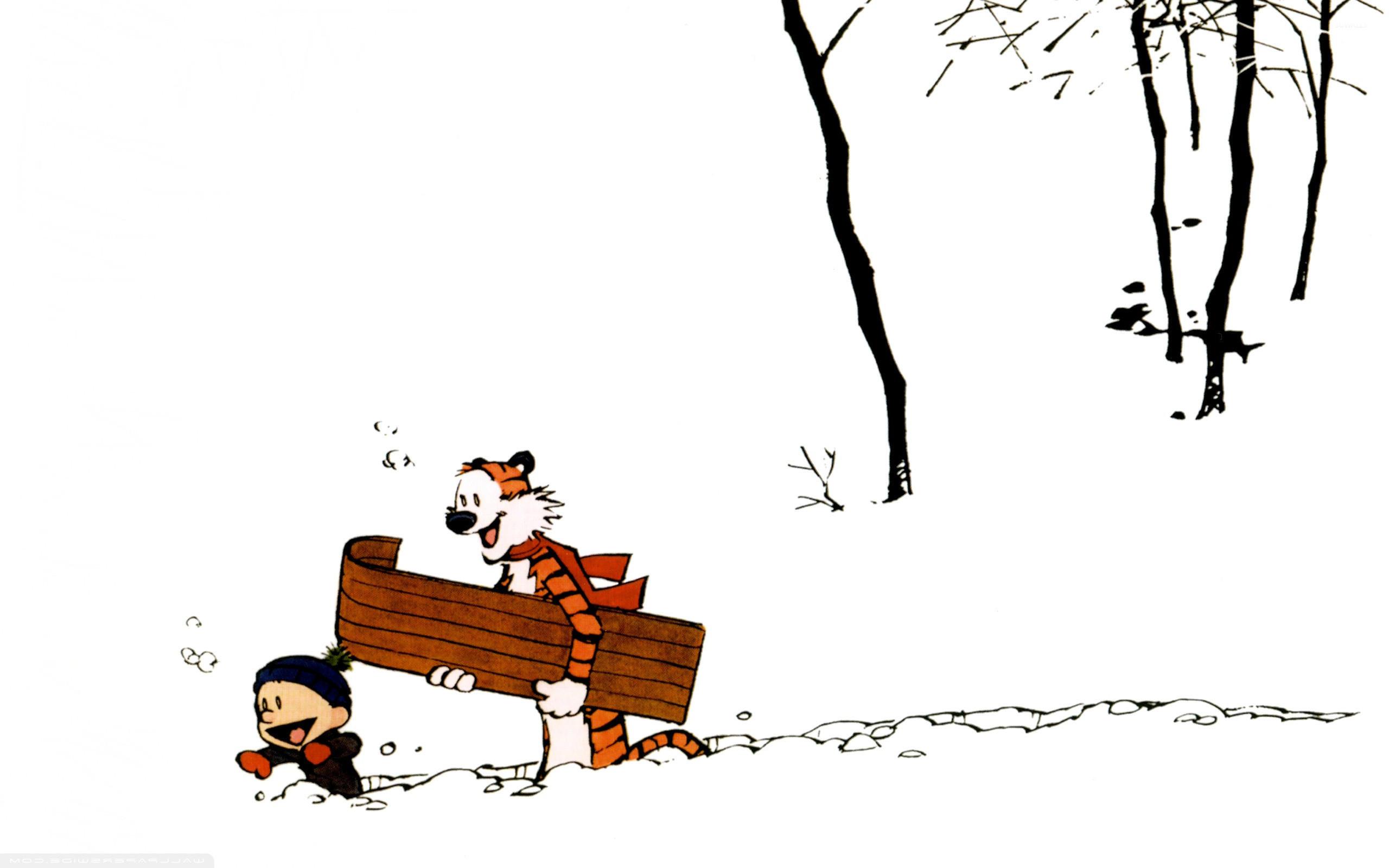 Calvin and Hobbes [7] wallpaper jpg