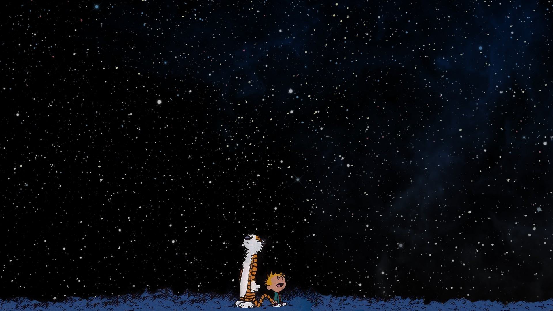 Calvin And Hobbes, Space, Stars Wallpapers HD / Desktop and Mobile  Backgrounds