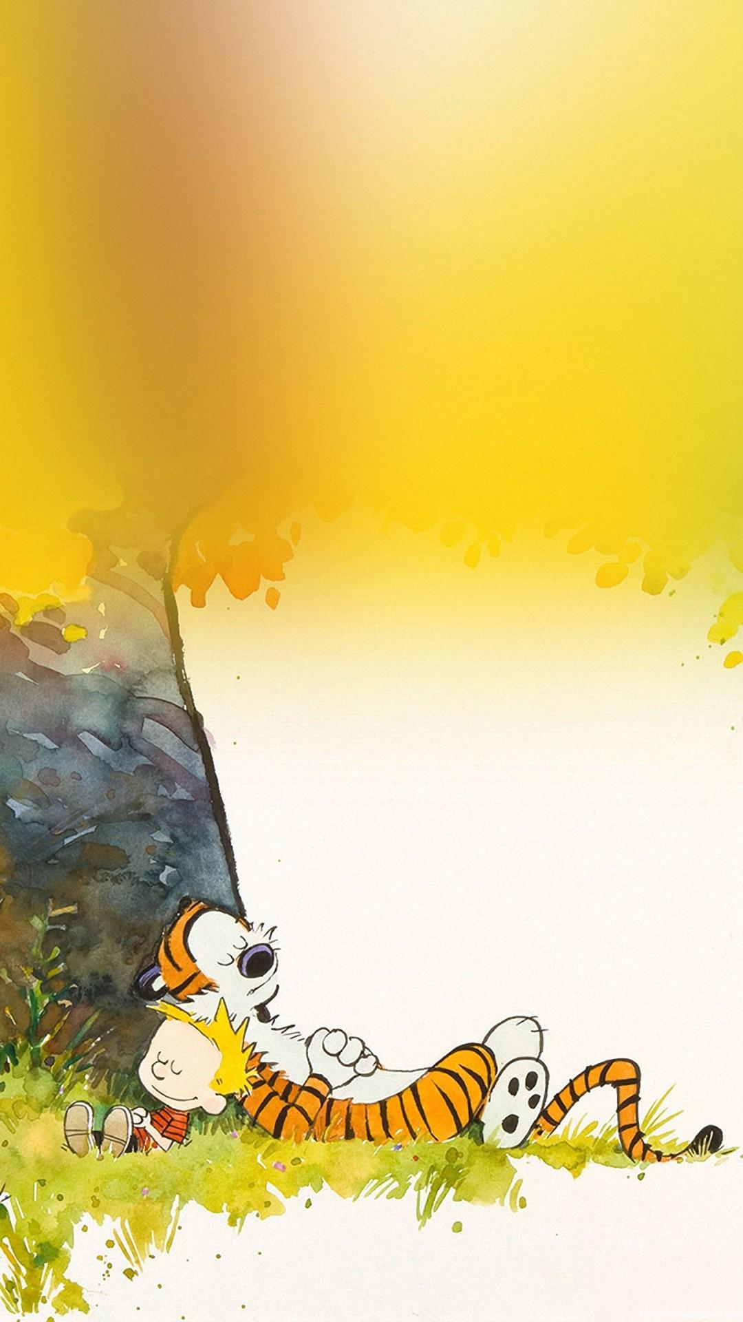 Calvin and Hobbes iPhone Wallpaper for Desktop .