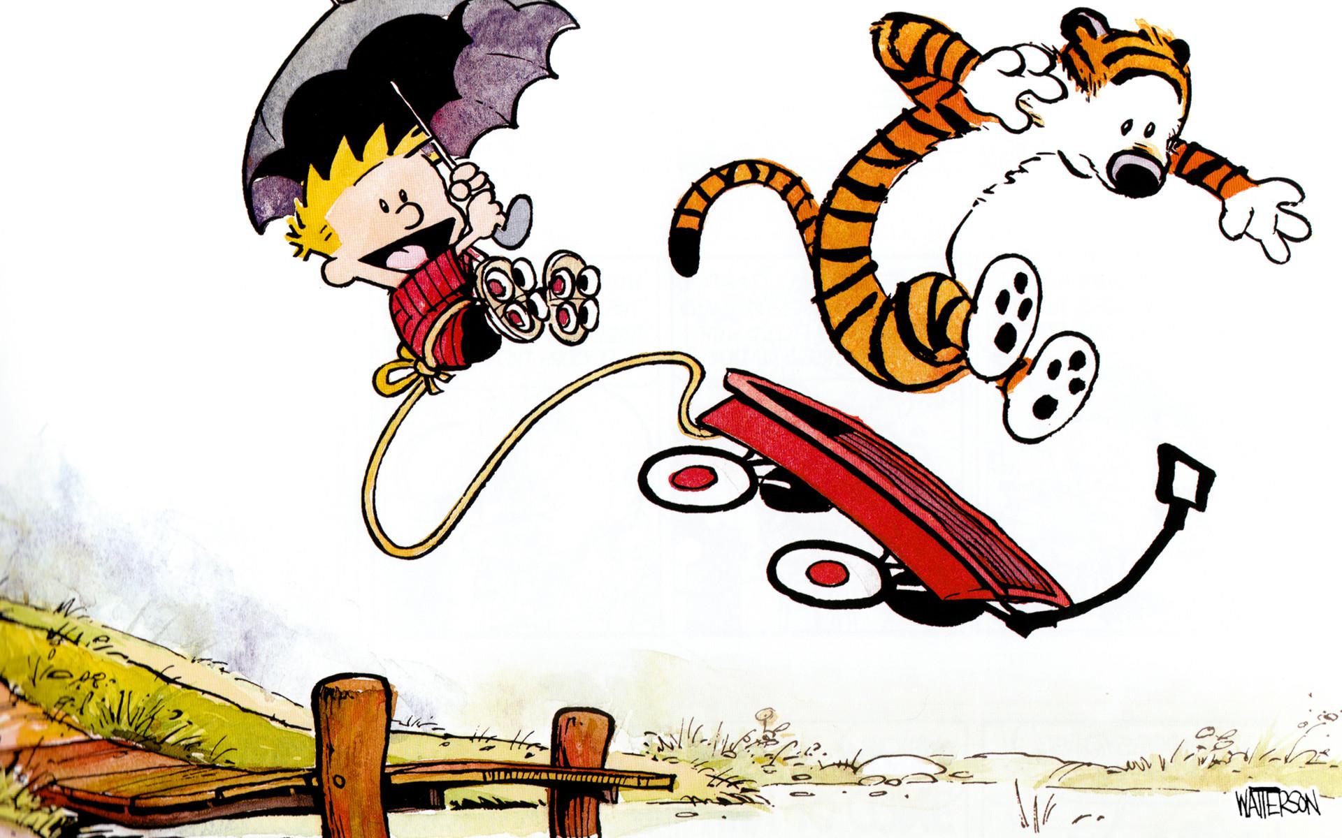 Comics – Calvin & Hobbes Hobbes (Calvin & Hobbes) Calvin (Calvin & Hobbes