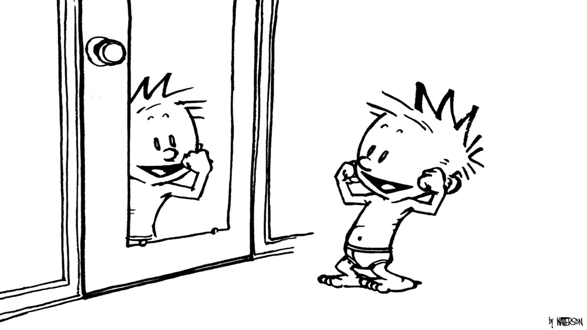 Calvin And Hobbes HD Wallpaper