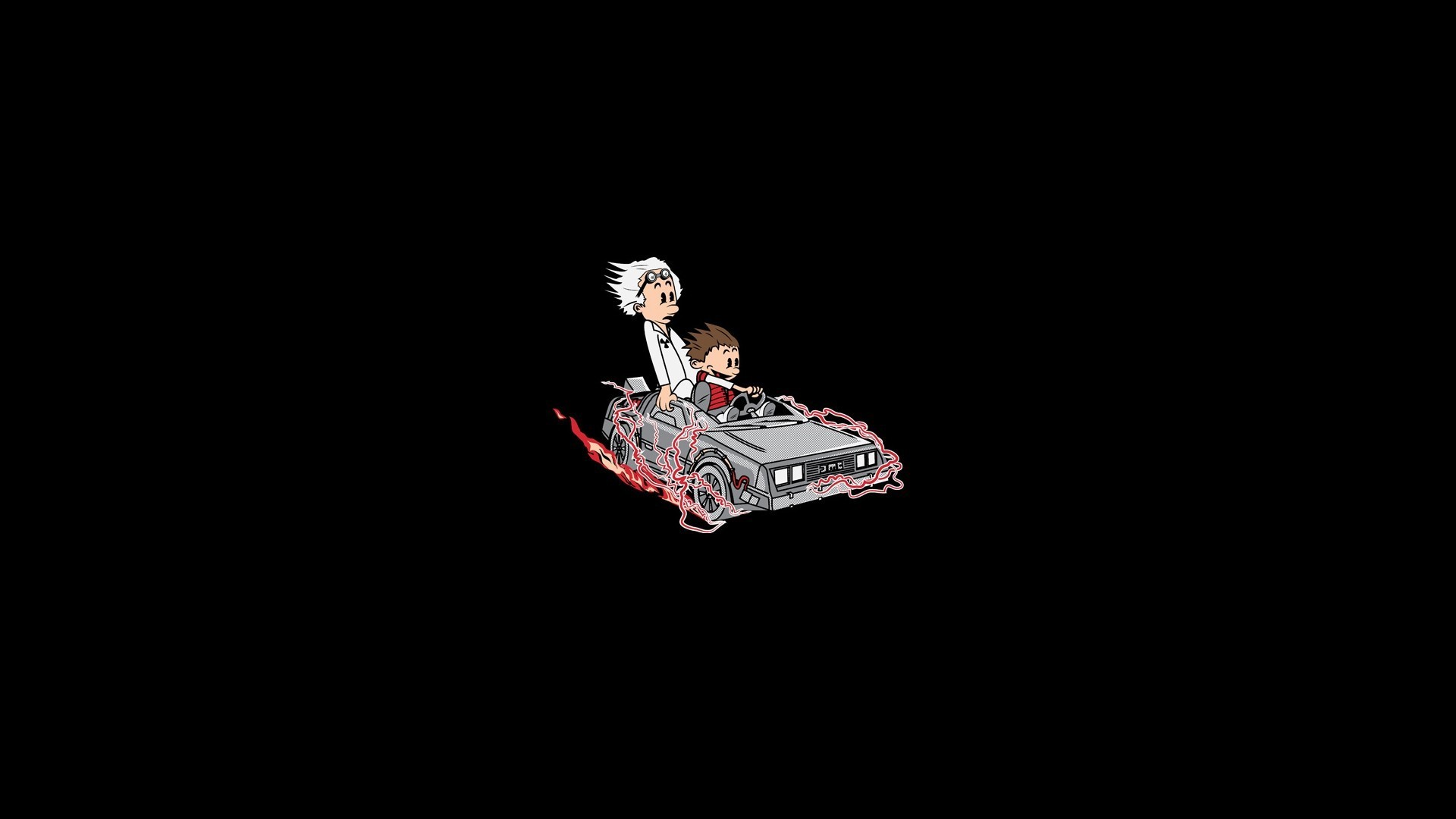 Back to the Future, Calvin and Hobbes Wallpapers HD / Desktop and Mobile  Backgrounds