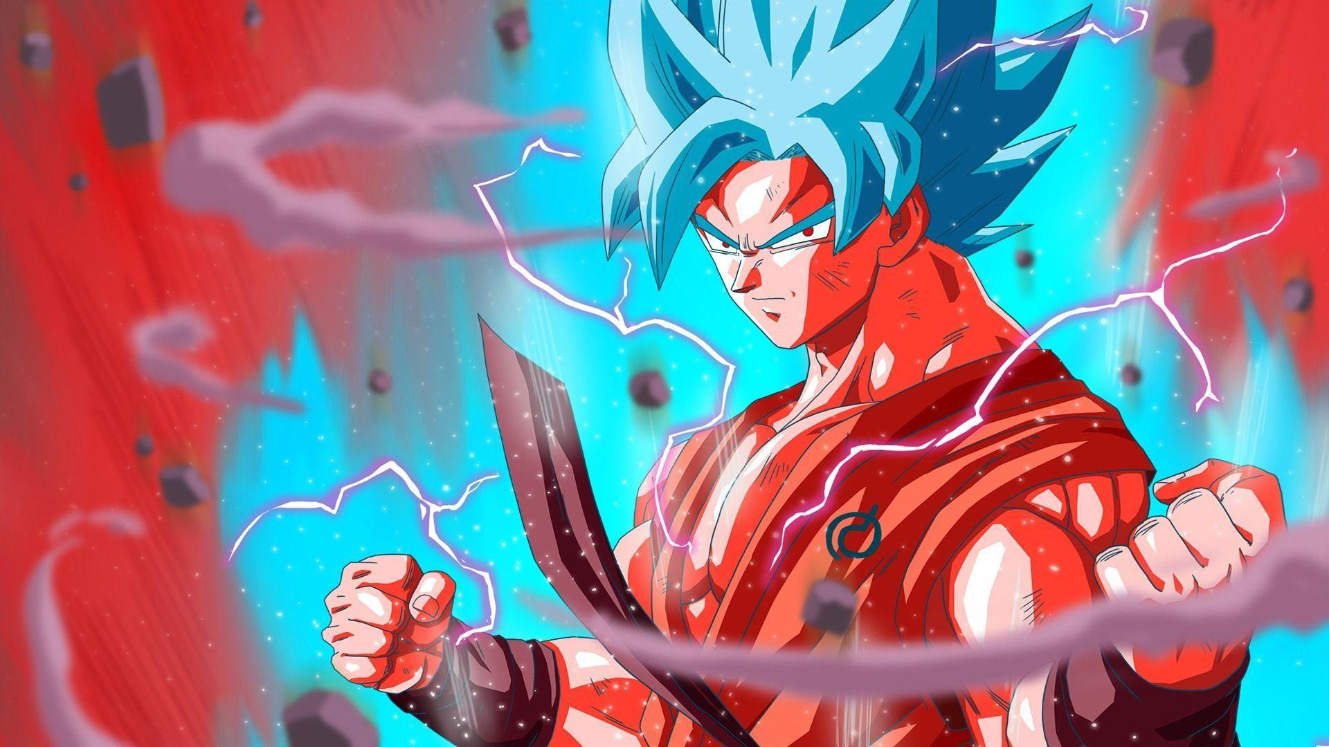 Goku Super Saiyan Blue DBS Wallpaper #6709