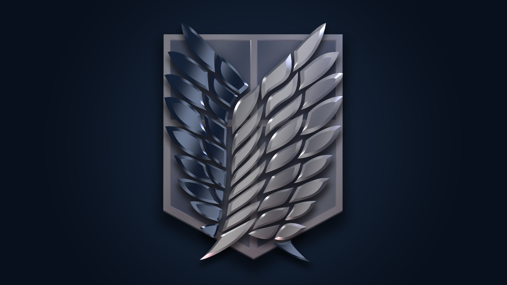69 Attack On Titan Logo