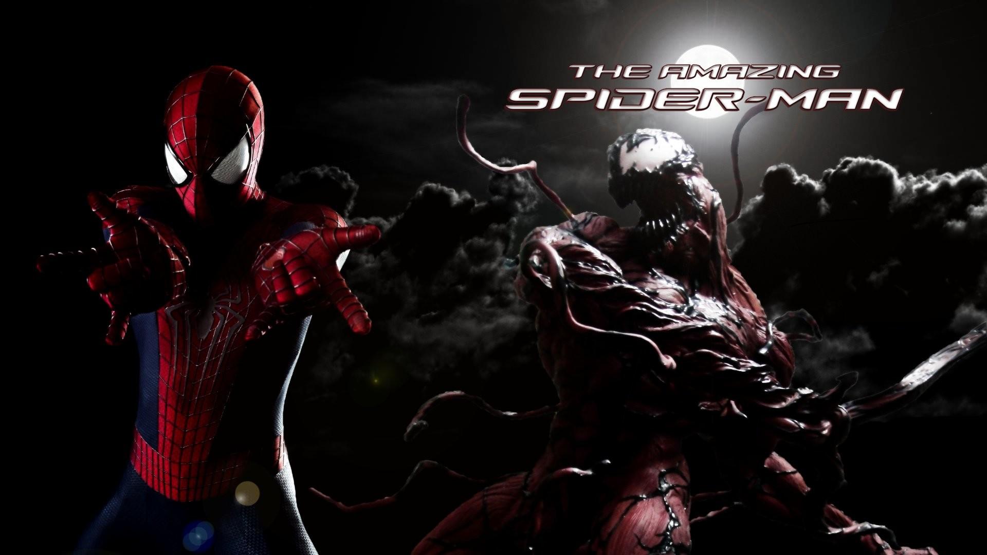 Spider-Man Venom Maximum Carnage scrolling fighting action .