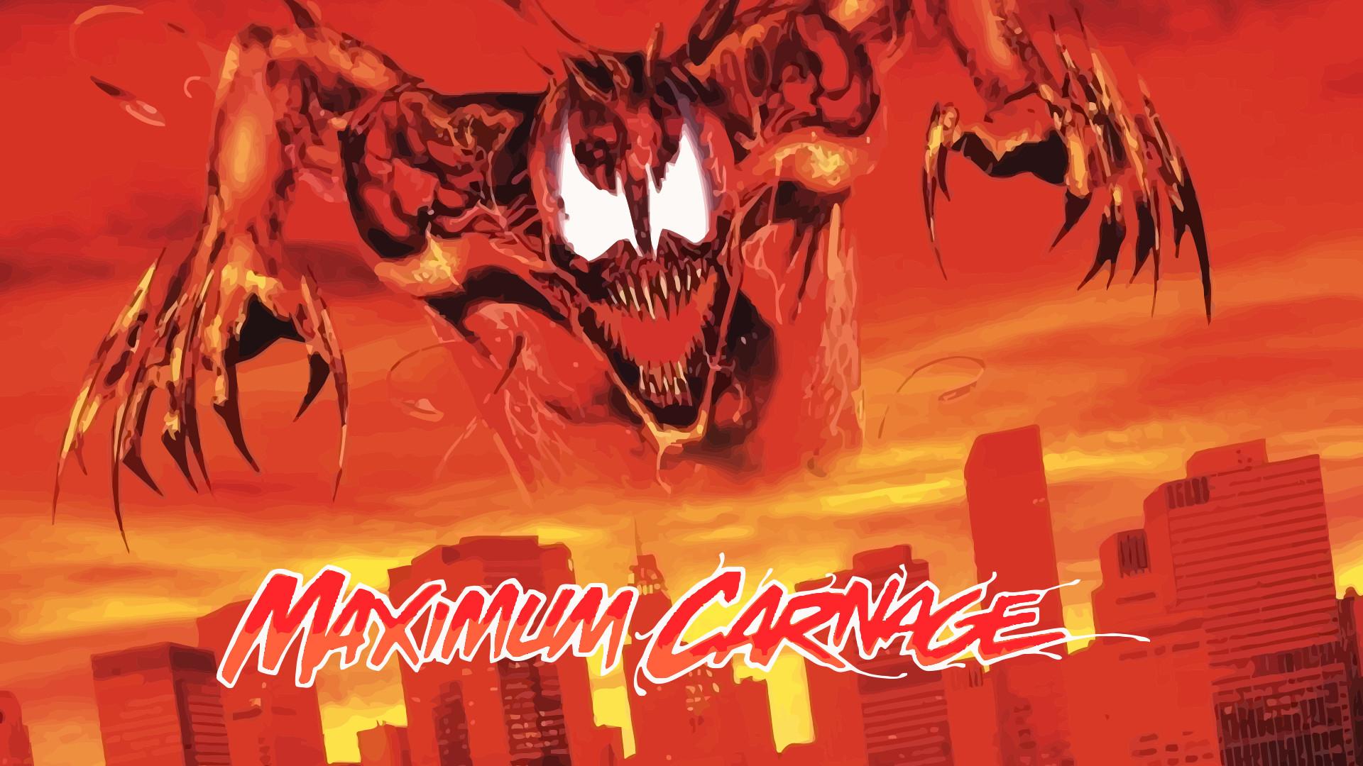 Maximum Carnage Wallpaper Maximum Carnage Official Poster Update by  ProfessorAdagio on .