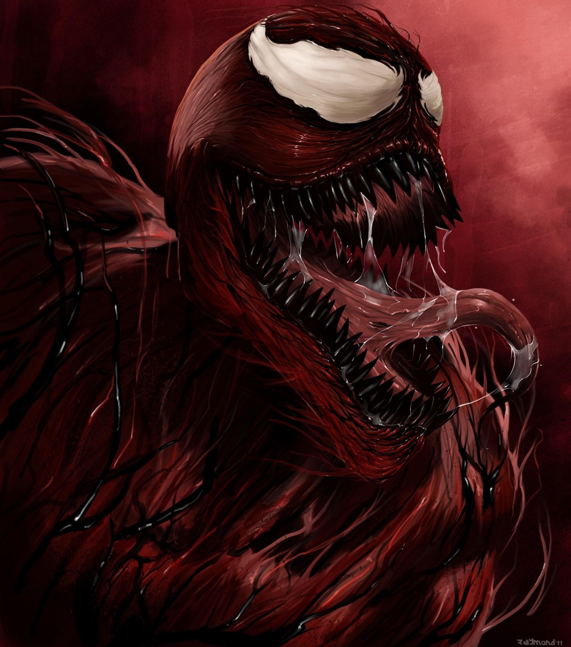 massacre carnage supervillain saliva ripper mouth comics marvel english