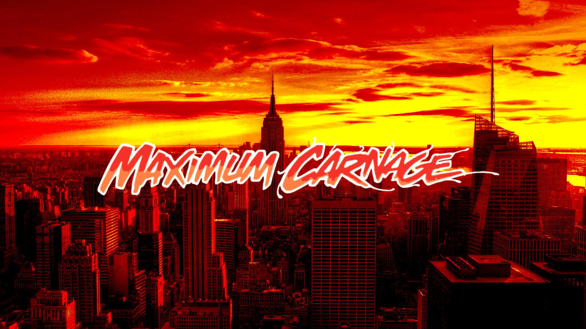 Maximum Carnage Wallpaper Hd Maximum carnage cover (no