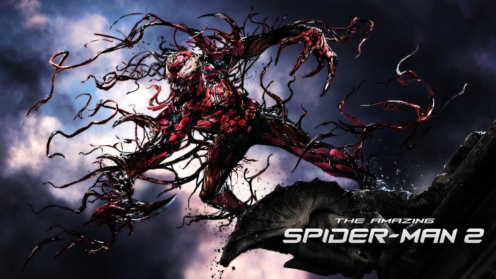 Spider-Man 4 Lizard And Carnage – wallpaper.