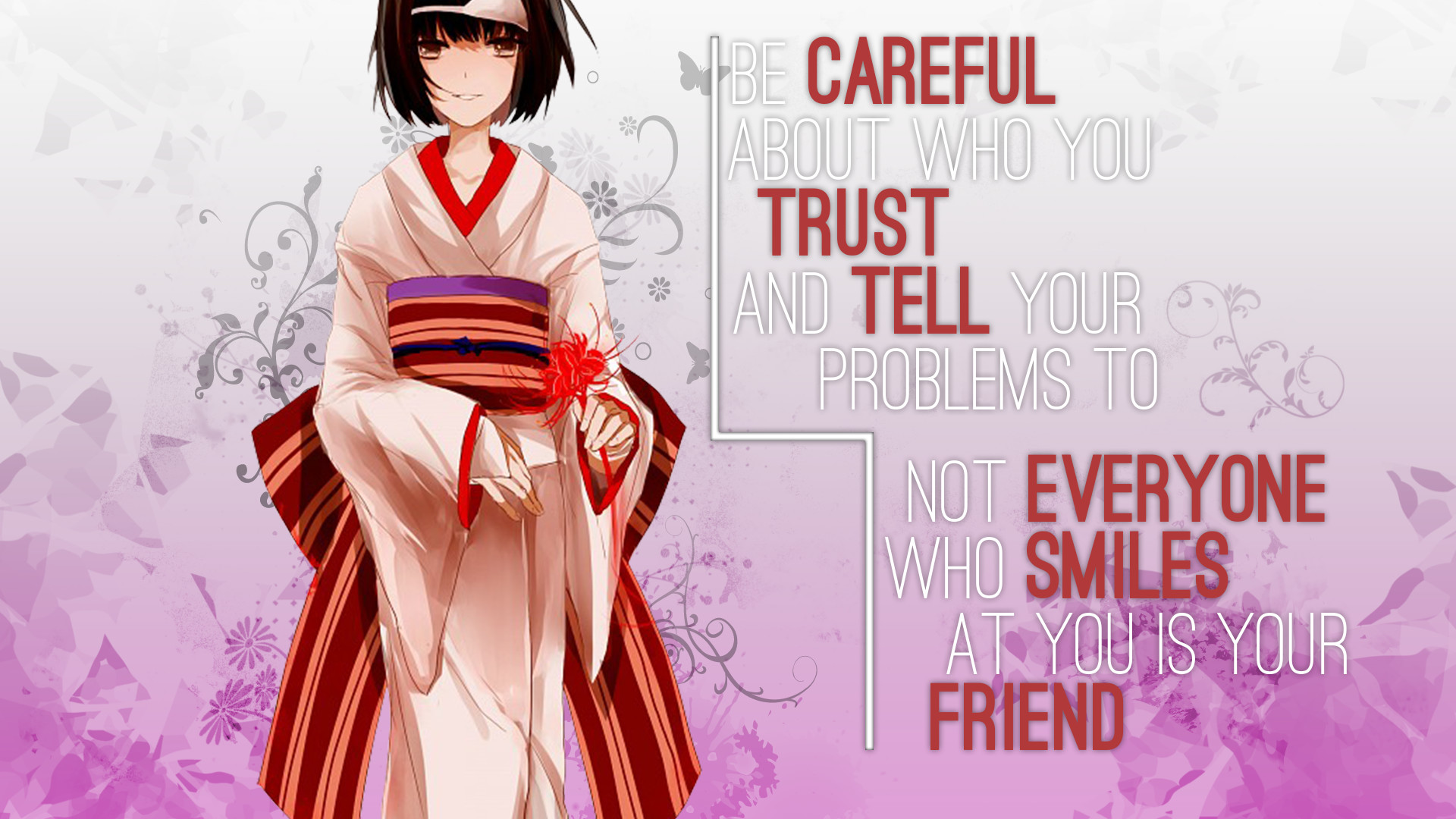 … Anime Quote Wallpaper [Noragami Nora] by Hirouw