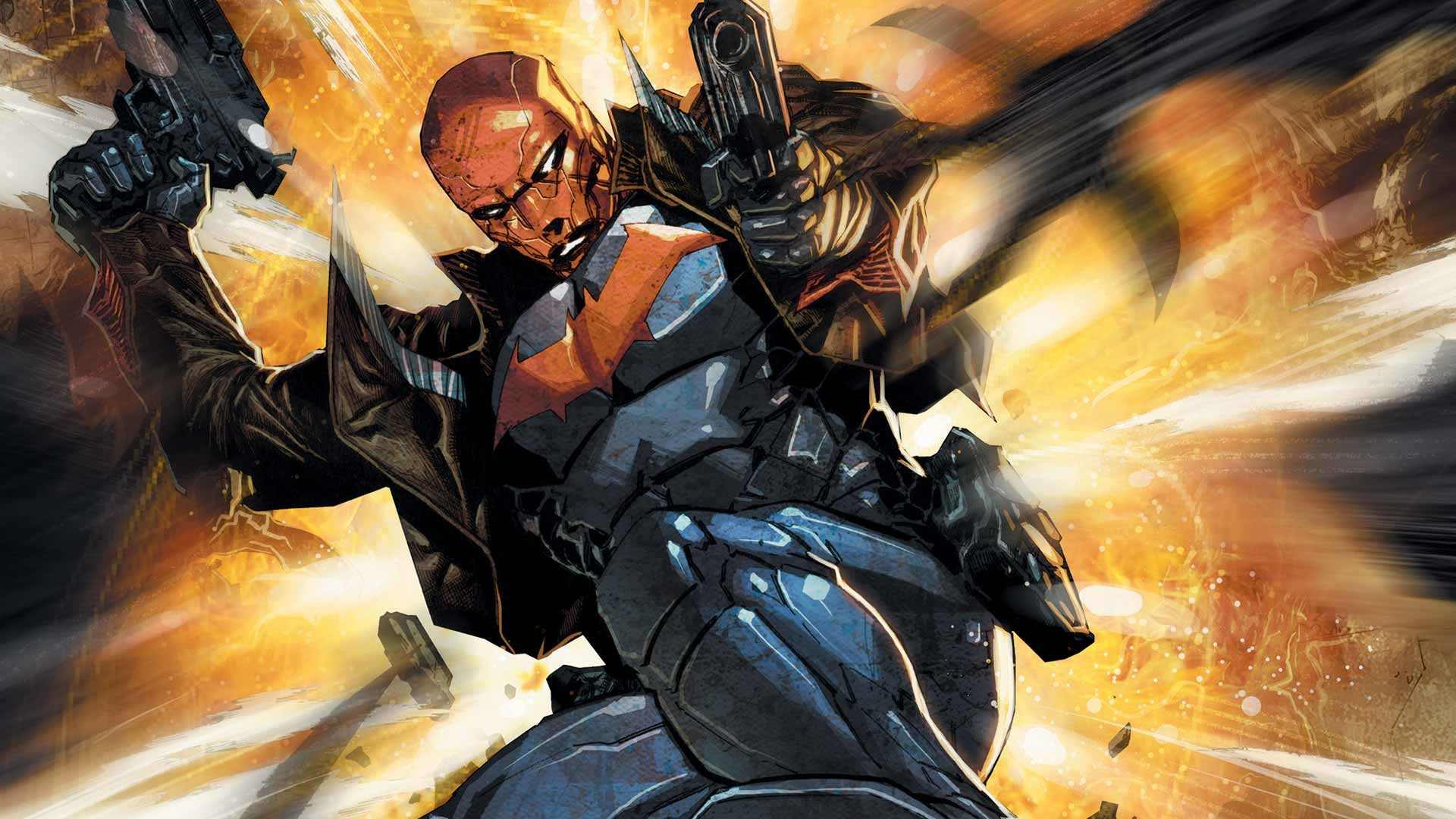Comics – Red Hood and the Outlaws Wallpaper