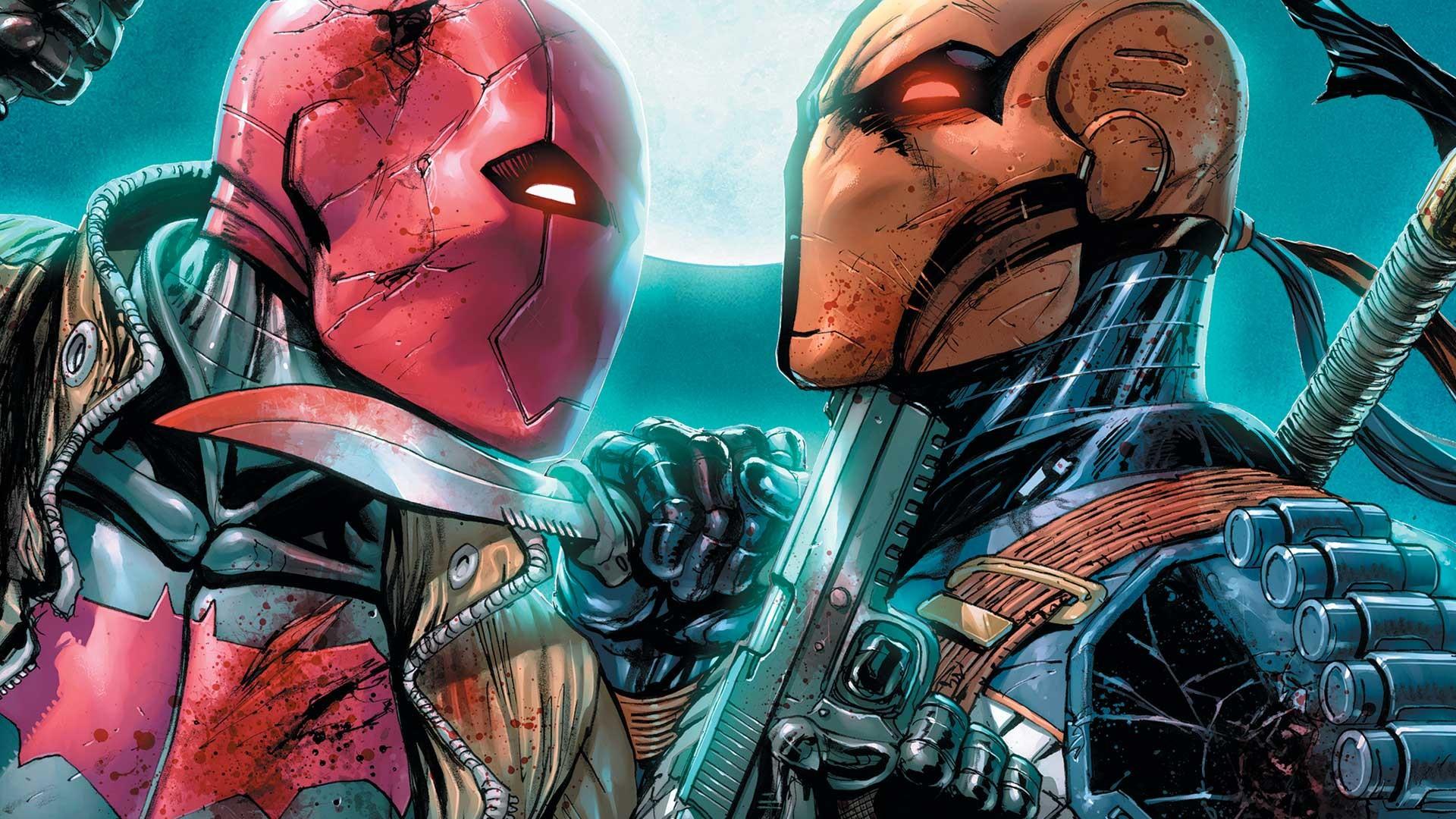 Comics – Deathstroke Red Hood Wallpaper