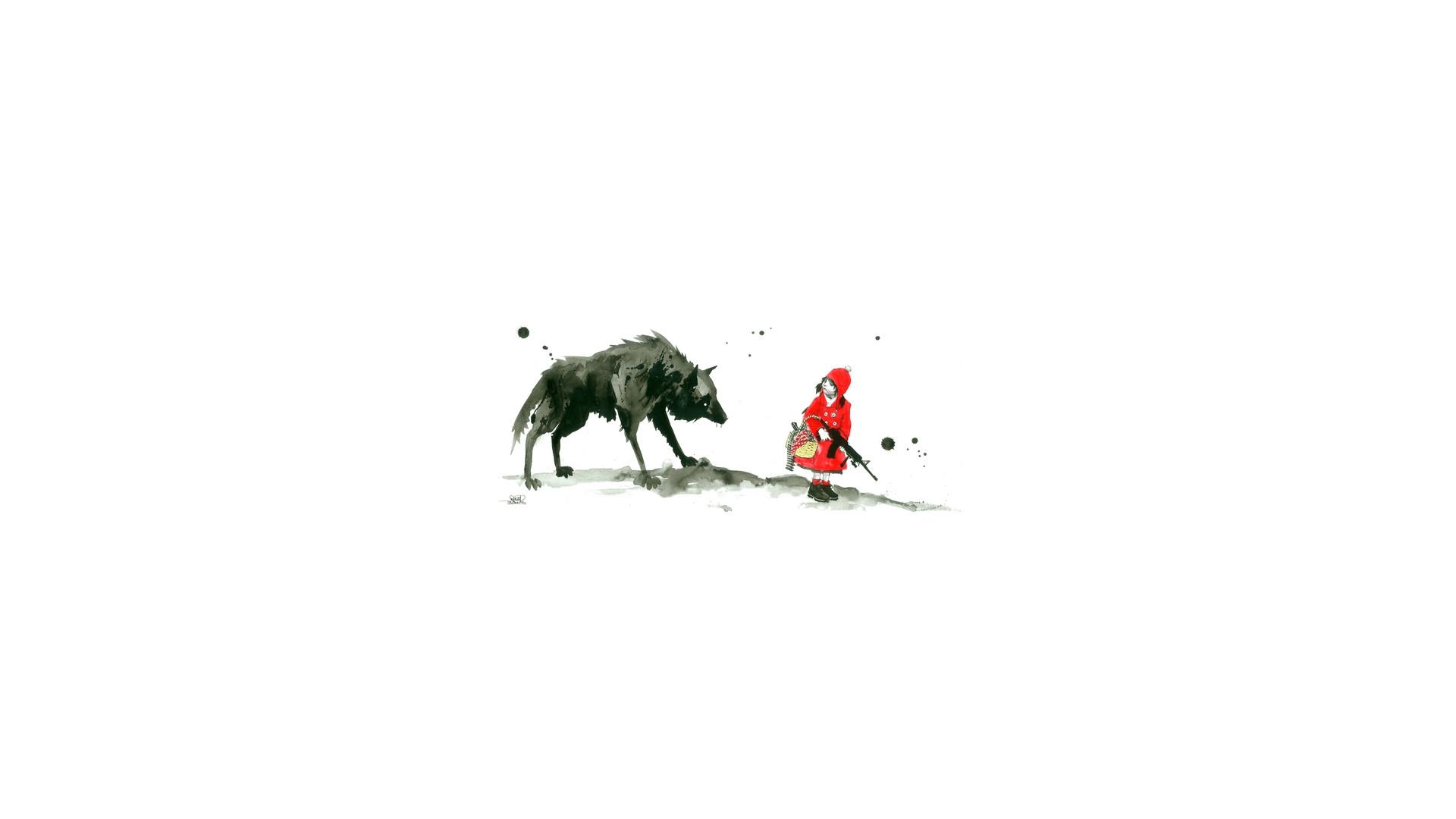Little Red Riding Hood Wallpaper #