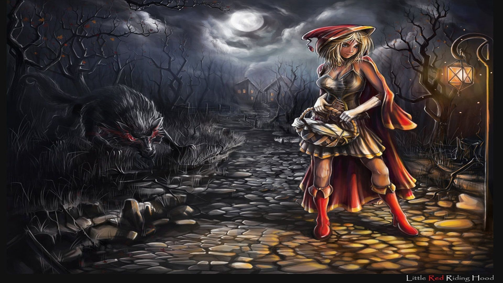 16 Red Riding Hood HD Wallpapers