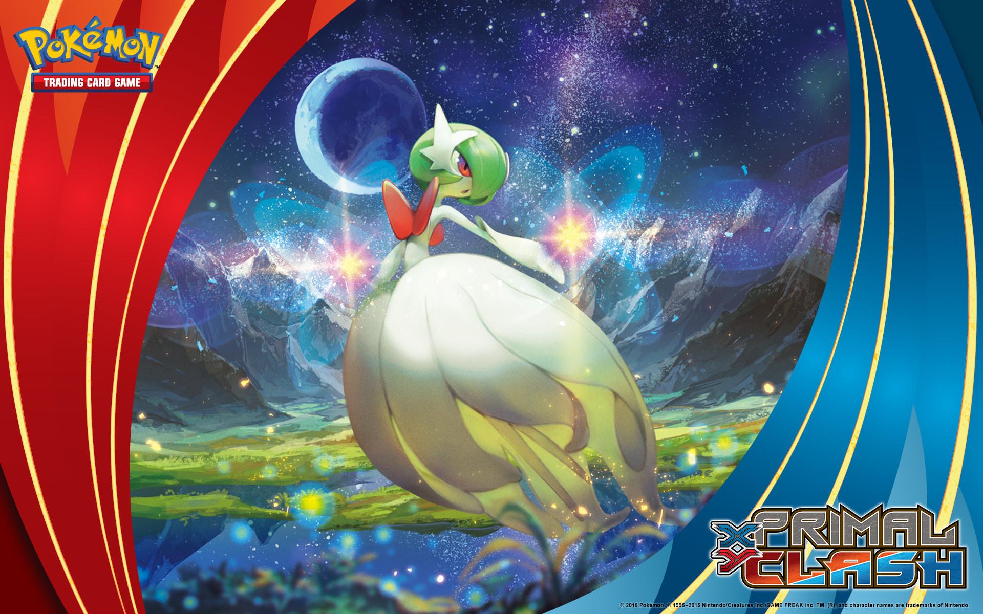 Pokémon TCG: <em>XY—Primal Clash</em> Mega Gardevoir. Wallpaper