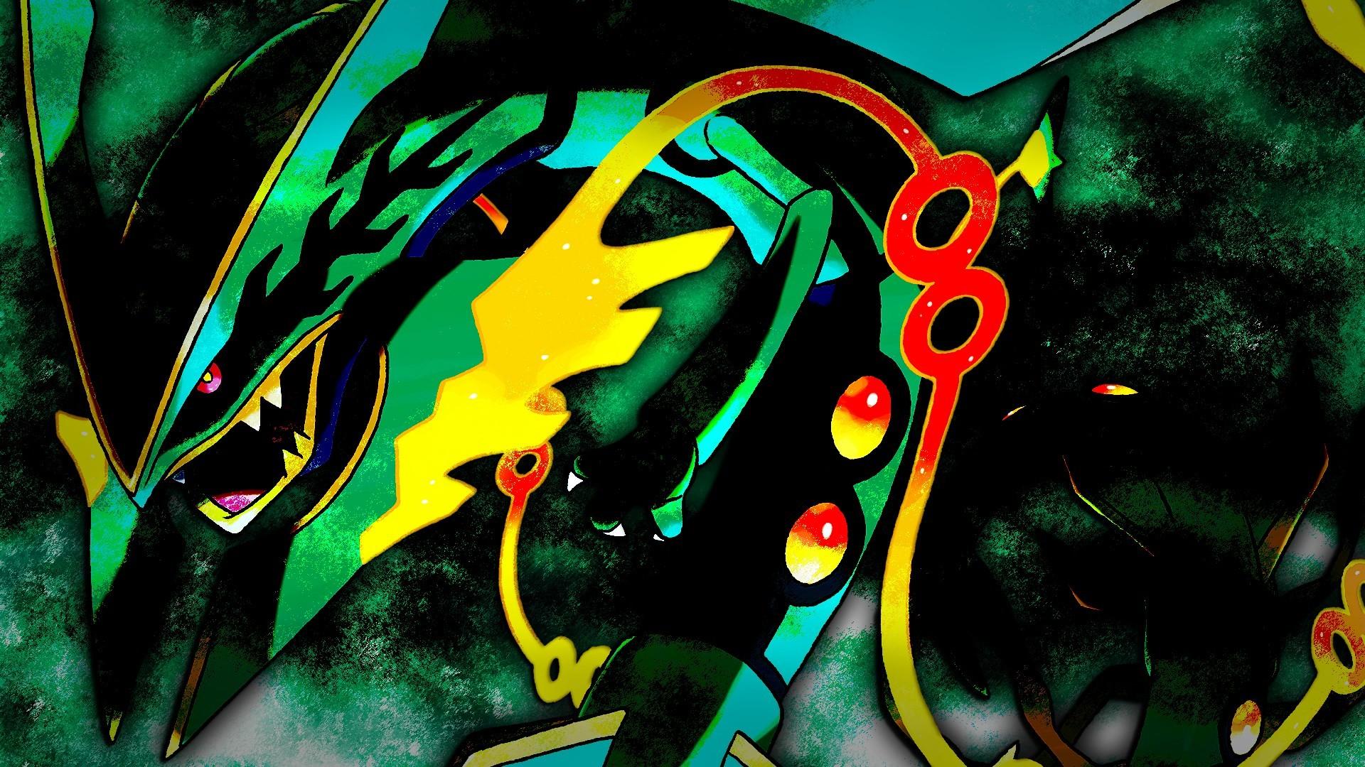 rayquaza mega evolution wallpaper …