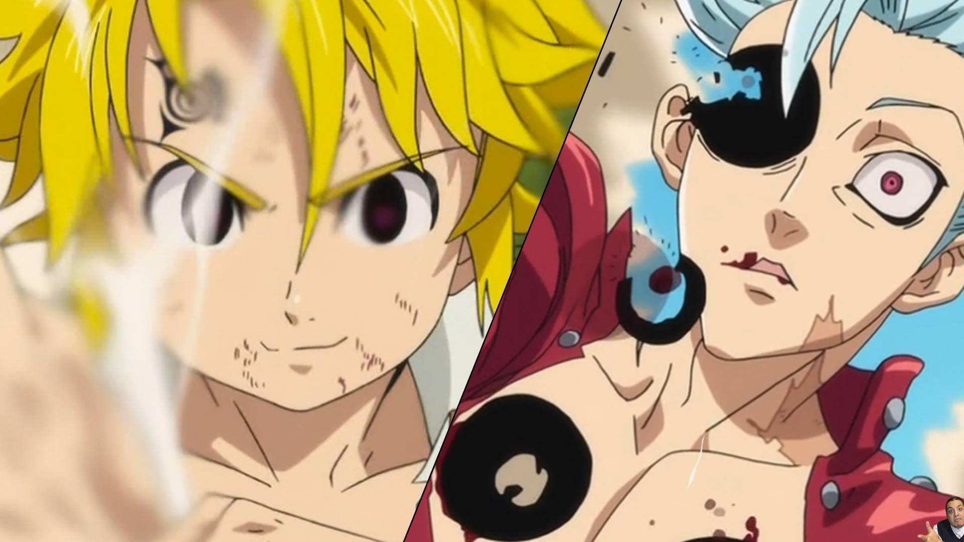 The Seven Deadly Sins Episode 11 七つの大罪 – Nanatsu No Taizai – Anime Review –  Meliodas Vs Ban Finale – YouTube