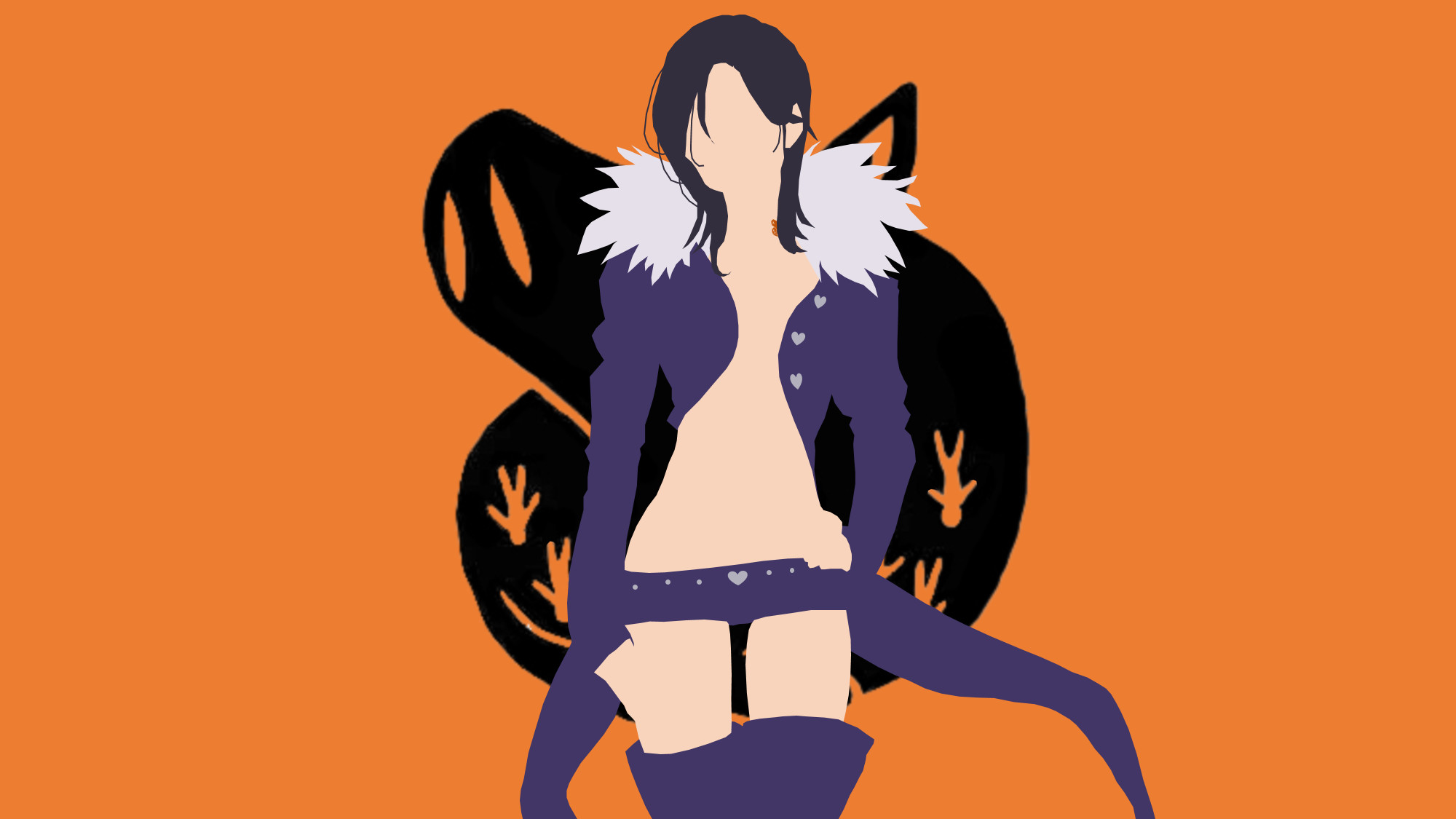 Gowther from Seven Deadly Sins by Reverendtundra | Minimalism | Pinterest |  Anime, Manga and Otaku
