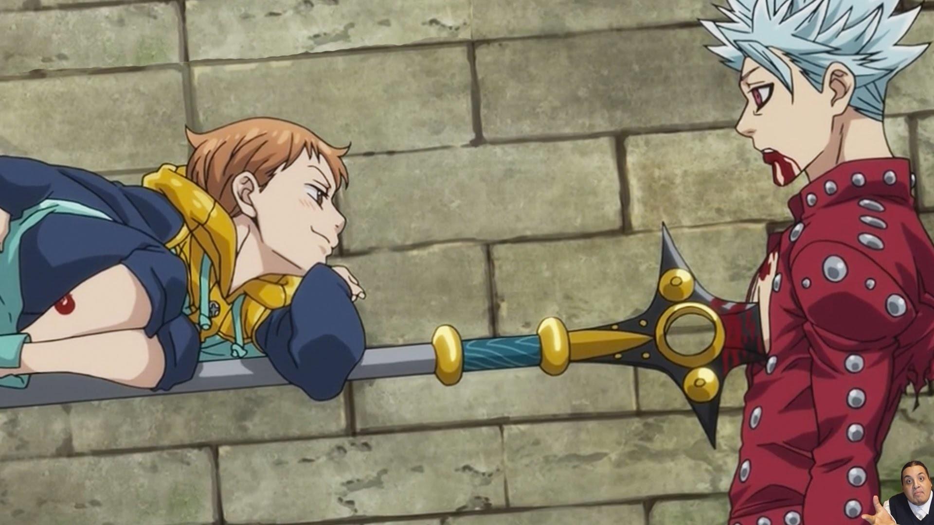 The Seven Deadly Sins Episode 7 & 6 七つの大罪 – Nanatsu No Taizai – Anime  Review – Ban Vs King – YouTube