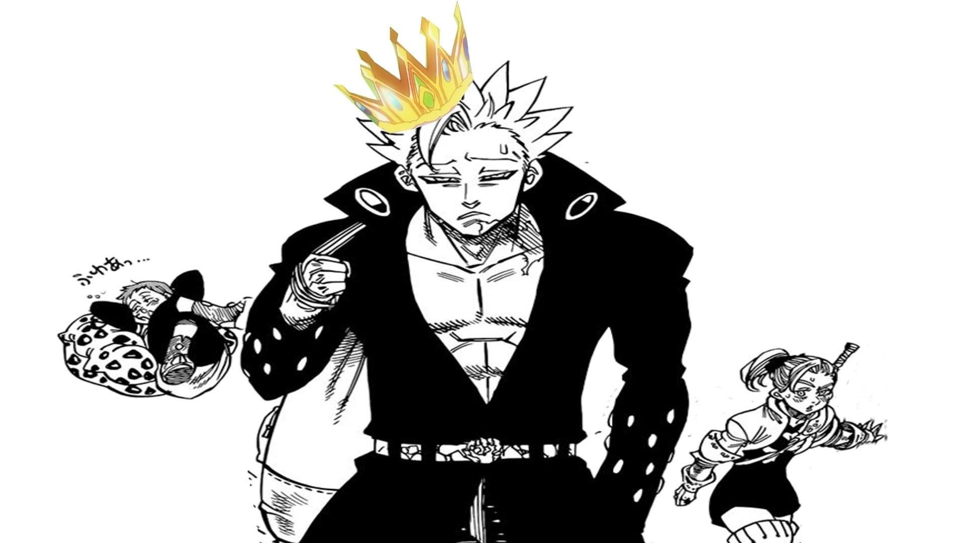 Nanatsu no Taizai Manga Chapter 104 Review 七つの大罪 – Fairy King Ban!?