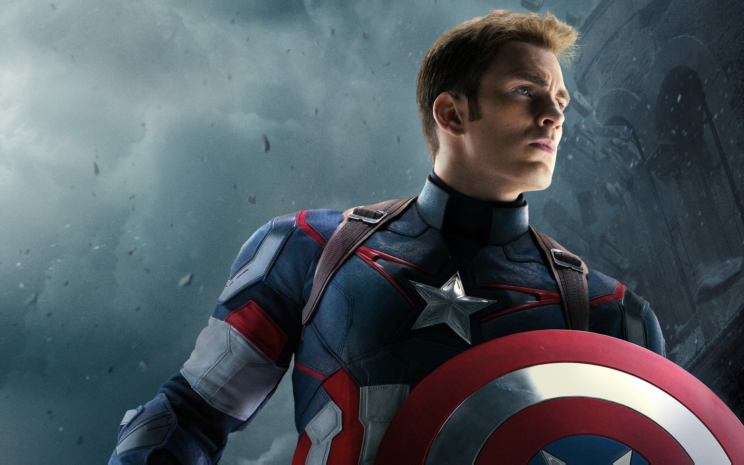 Chris-Evans-As-Captain-America-Wallpaper-HD • iOS Mode