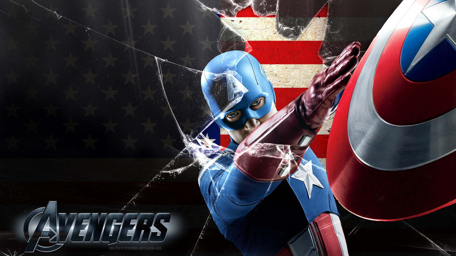 Captain America Avengers Wallpapers For Iphone On Wallpaper Hd 1920 x 1080  px 623.08 KB shield