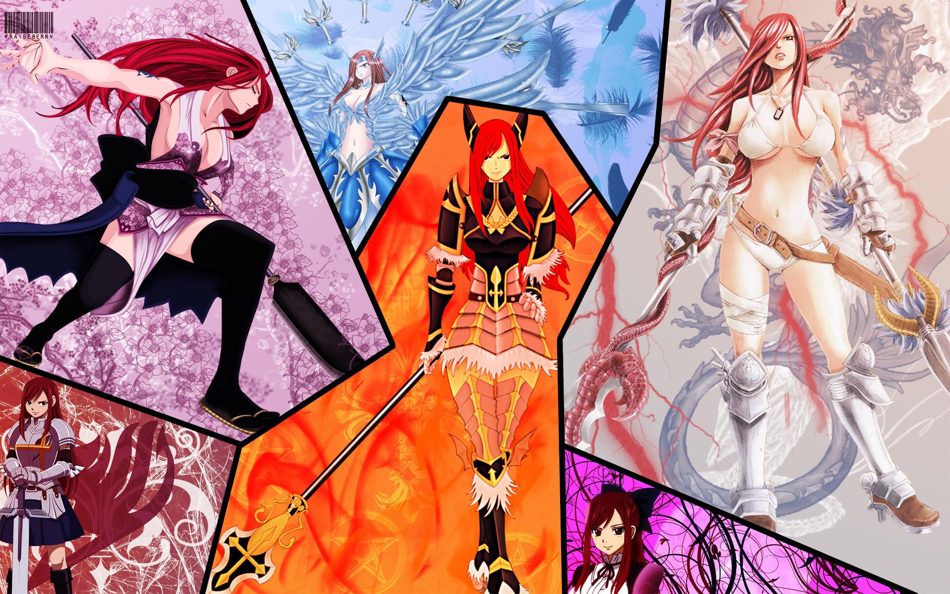 Erza Scarlet Armor Wallpapers As Wallpaper HD